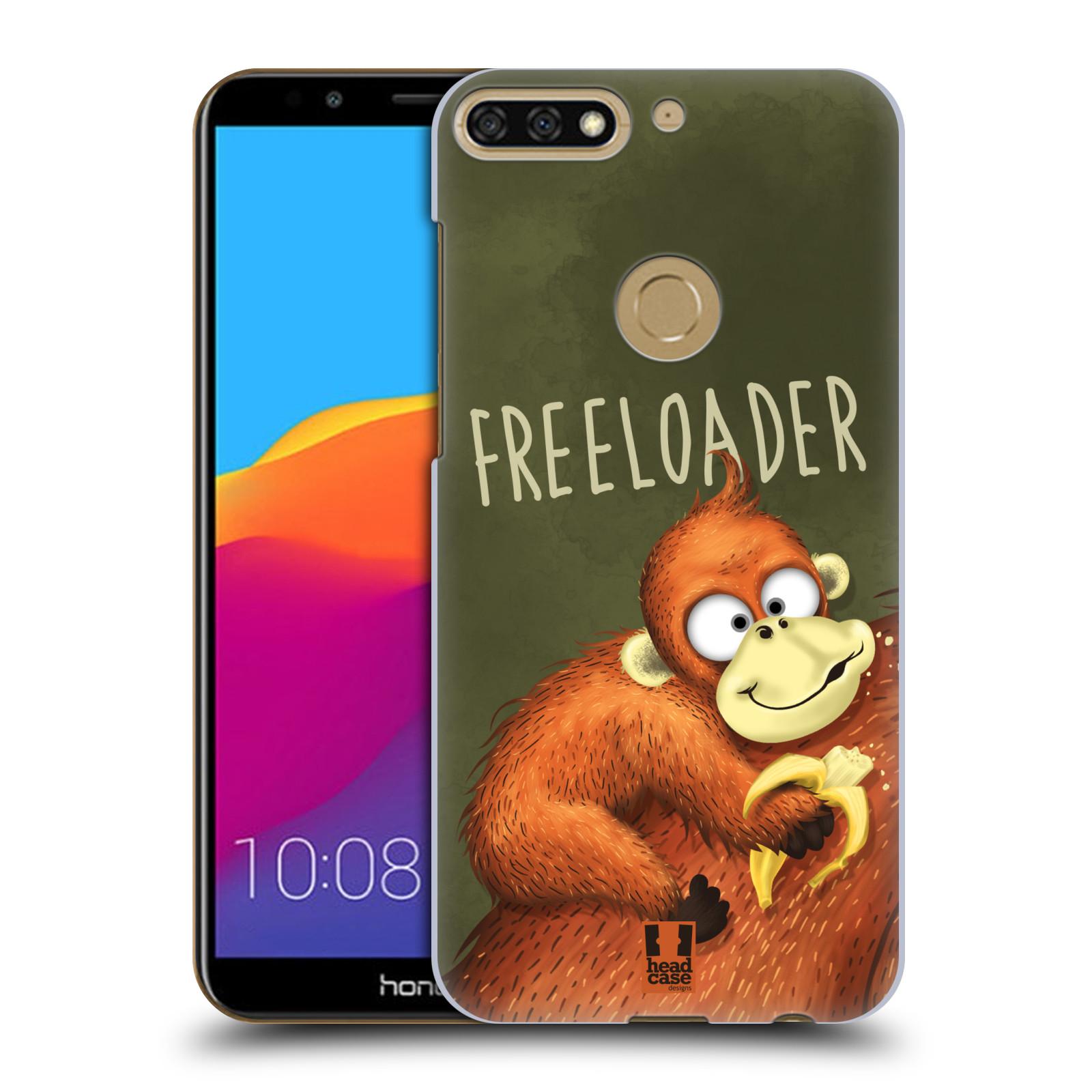 Plastové pouzdro na mobil Huawei Y7 Prime 2018 - Head Case - Opičák Freeloader