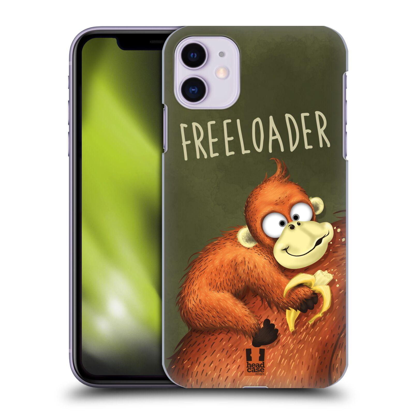 Plastové pouzdro na mobil Apple iPhone 11 - Head Case - Opičák Freeloader