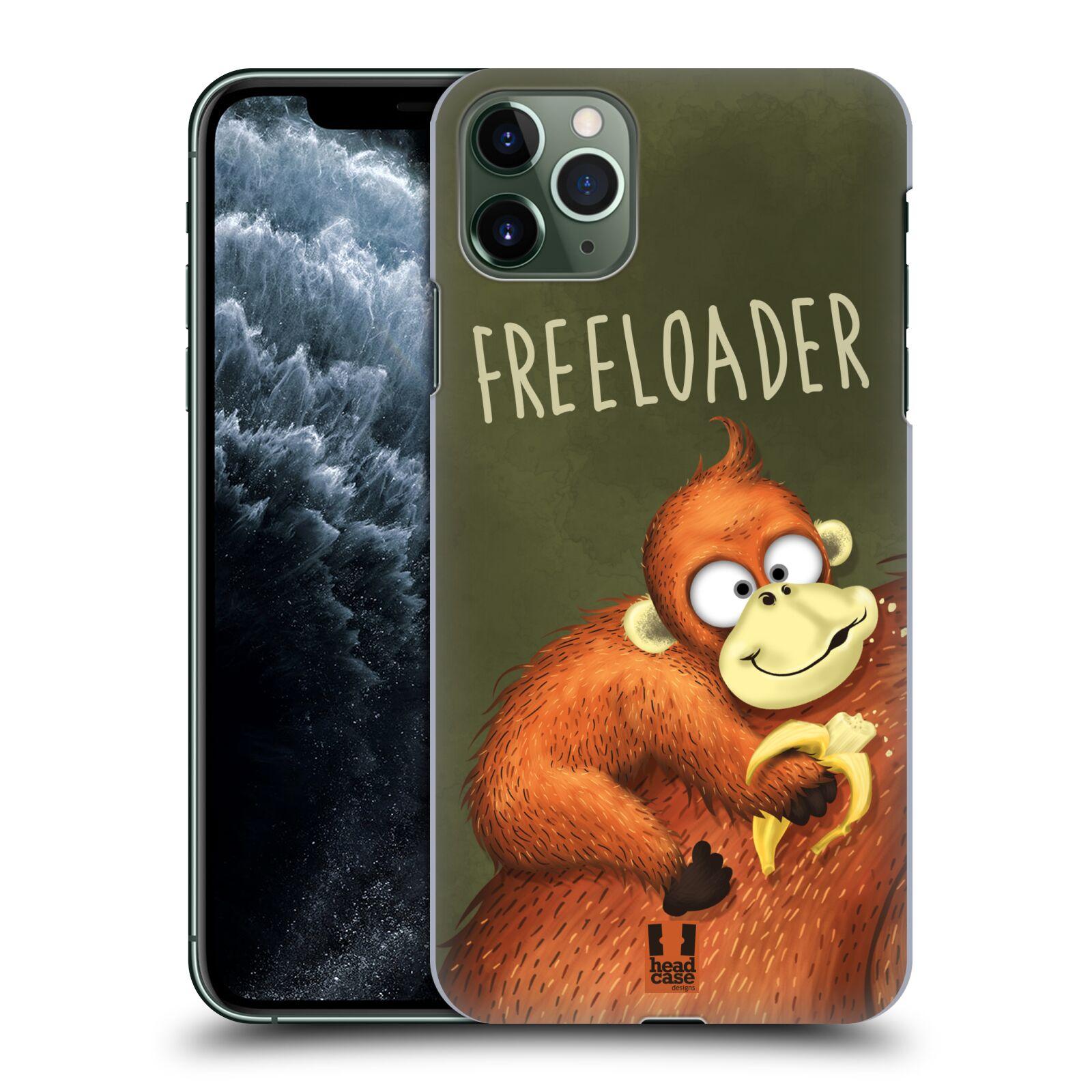 Plastové pouzdro na mobil Apple iPhone 11 Pro Max - Head Case - Opičák Freeloader