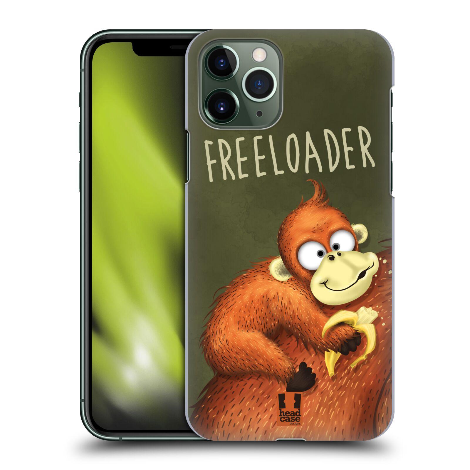 Plastové pouzdro na mobil Apple iPhone 11 Pro - Head Case - Opičák Freeloader