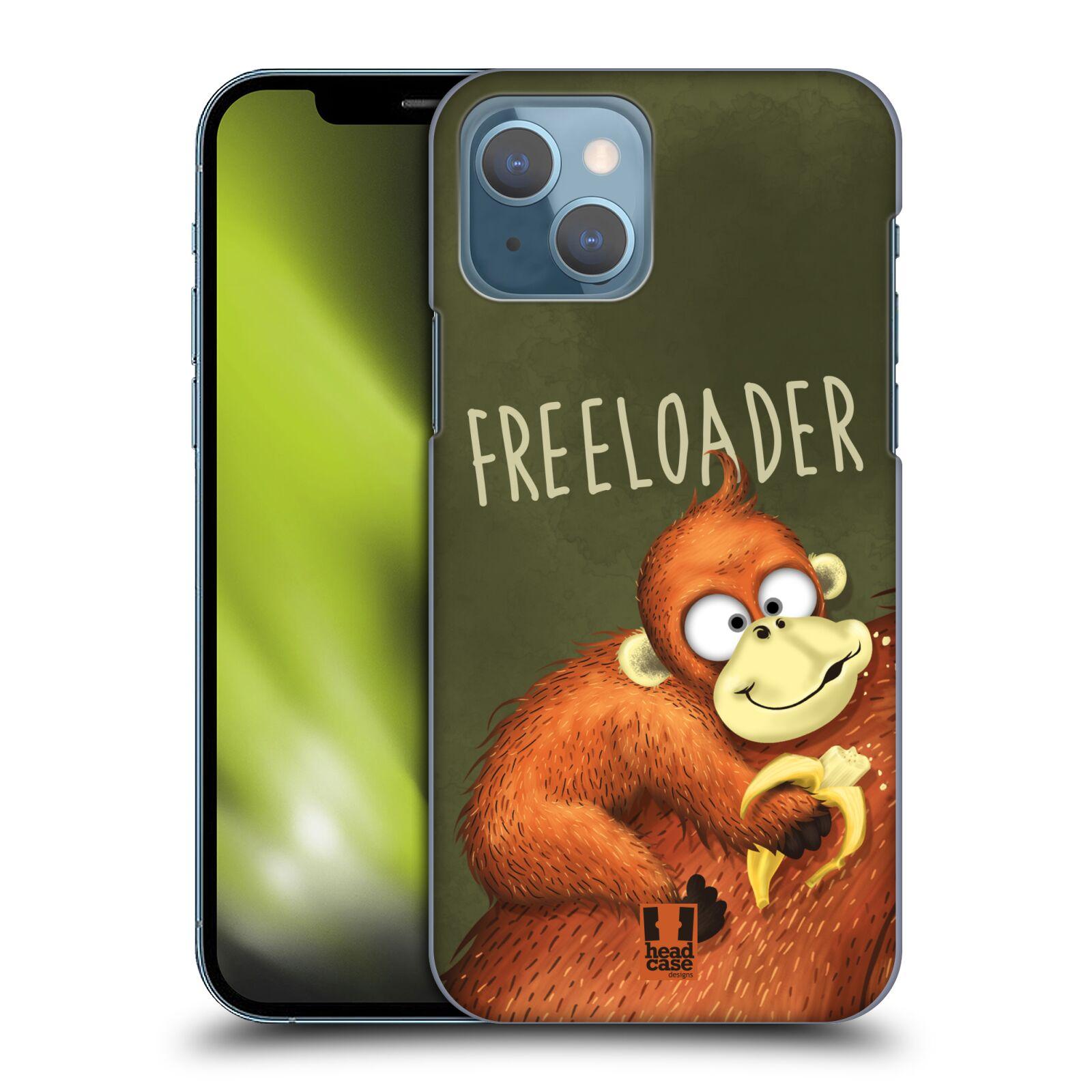 Plastové pouzdro na mobil Apple iPhone 13 - Head Case - Opičák Freeloader