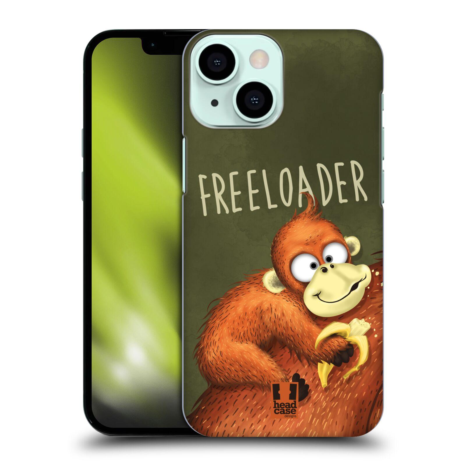 Plastové pouzdro na mobil Apple iPhone 13 Mini - Head Case - Opičák Freeloader