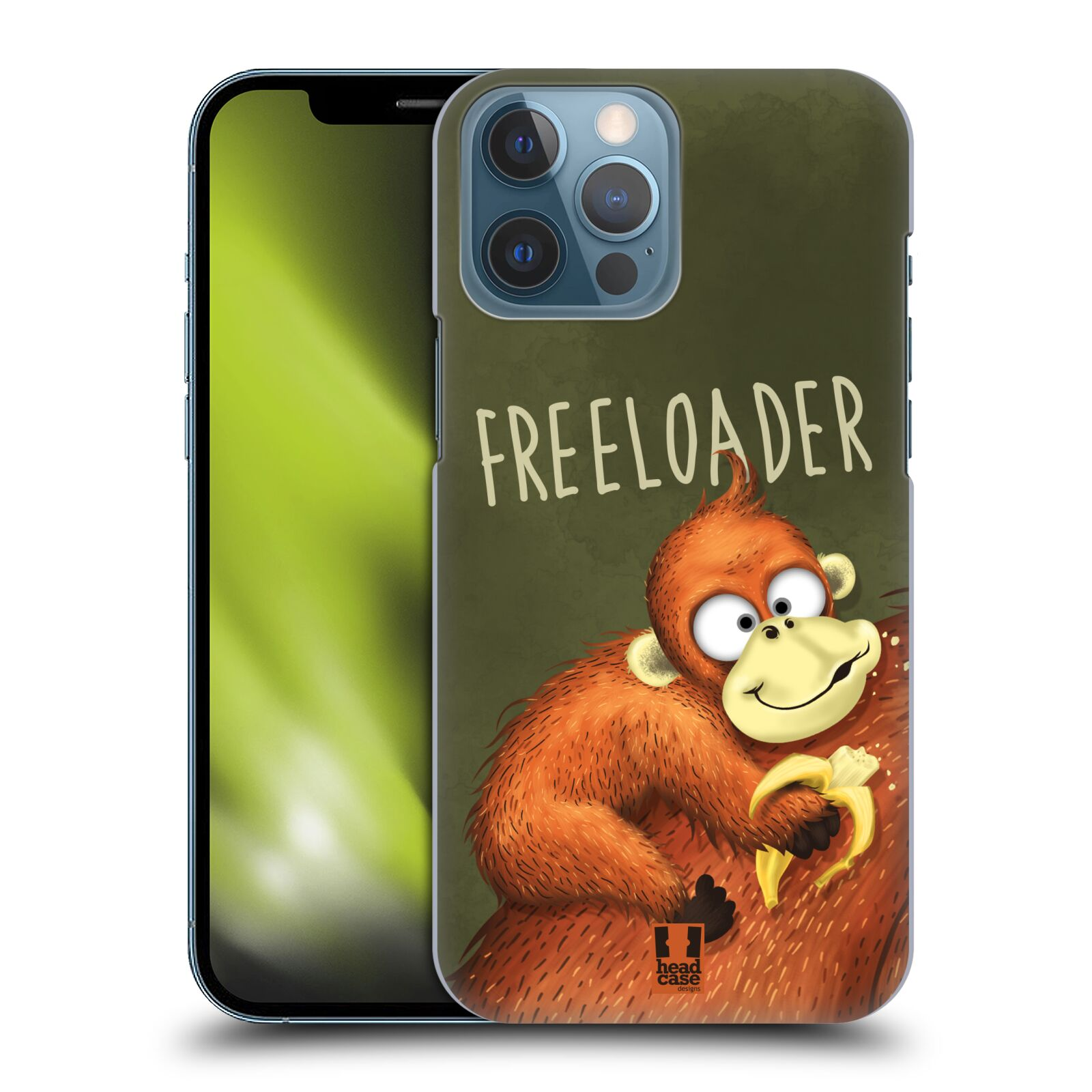 Plastové pouzdro na mobil Apple iPhone 13 Pro Max - Head Case - Opičák Freeloader
