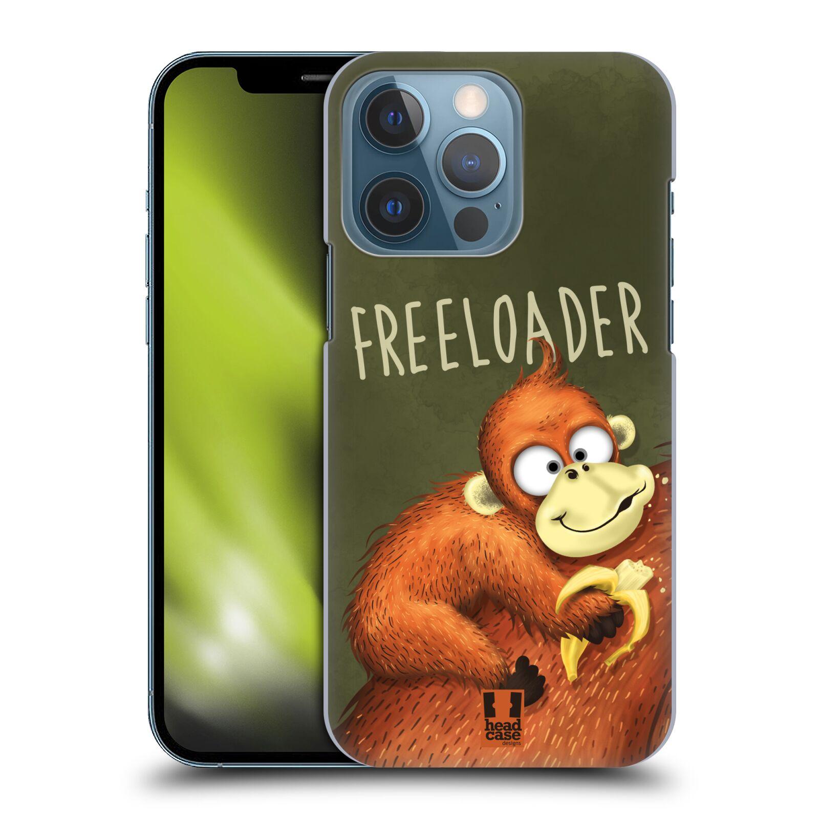 Plastové pouzdro na mobil Apple iPhone 13 Pro - Head Case - Opičák Freeloader