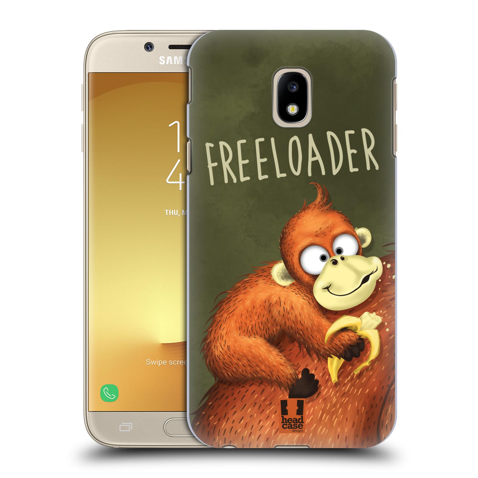 Plastové pouzdro na mobil Samsung Galaxy J3 (2017) - Head Case - Opičák Freeloader