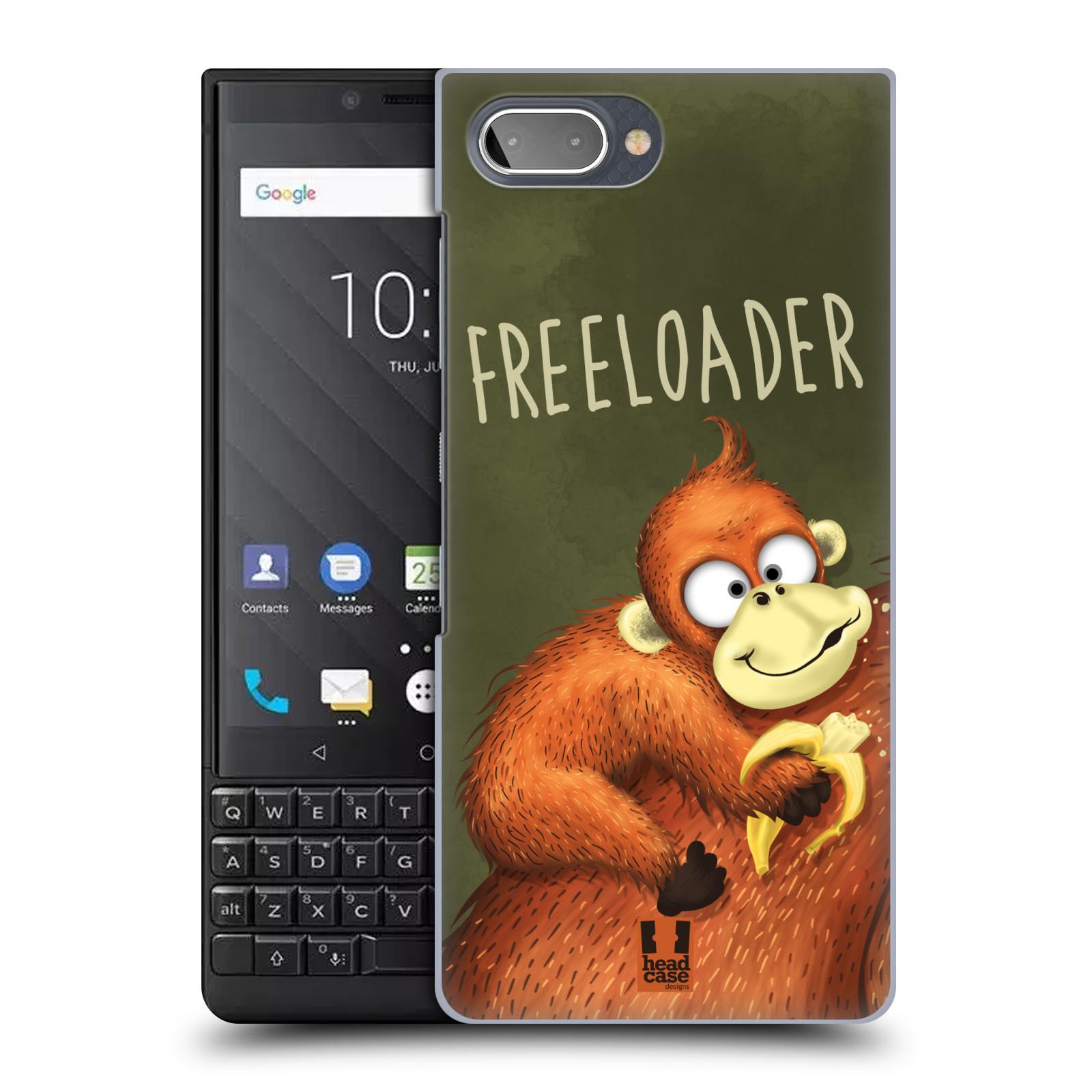 Plastové pouzdro na mobil Blackberry Key 2 - Head Case - Opičák Freeloader