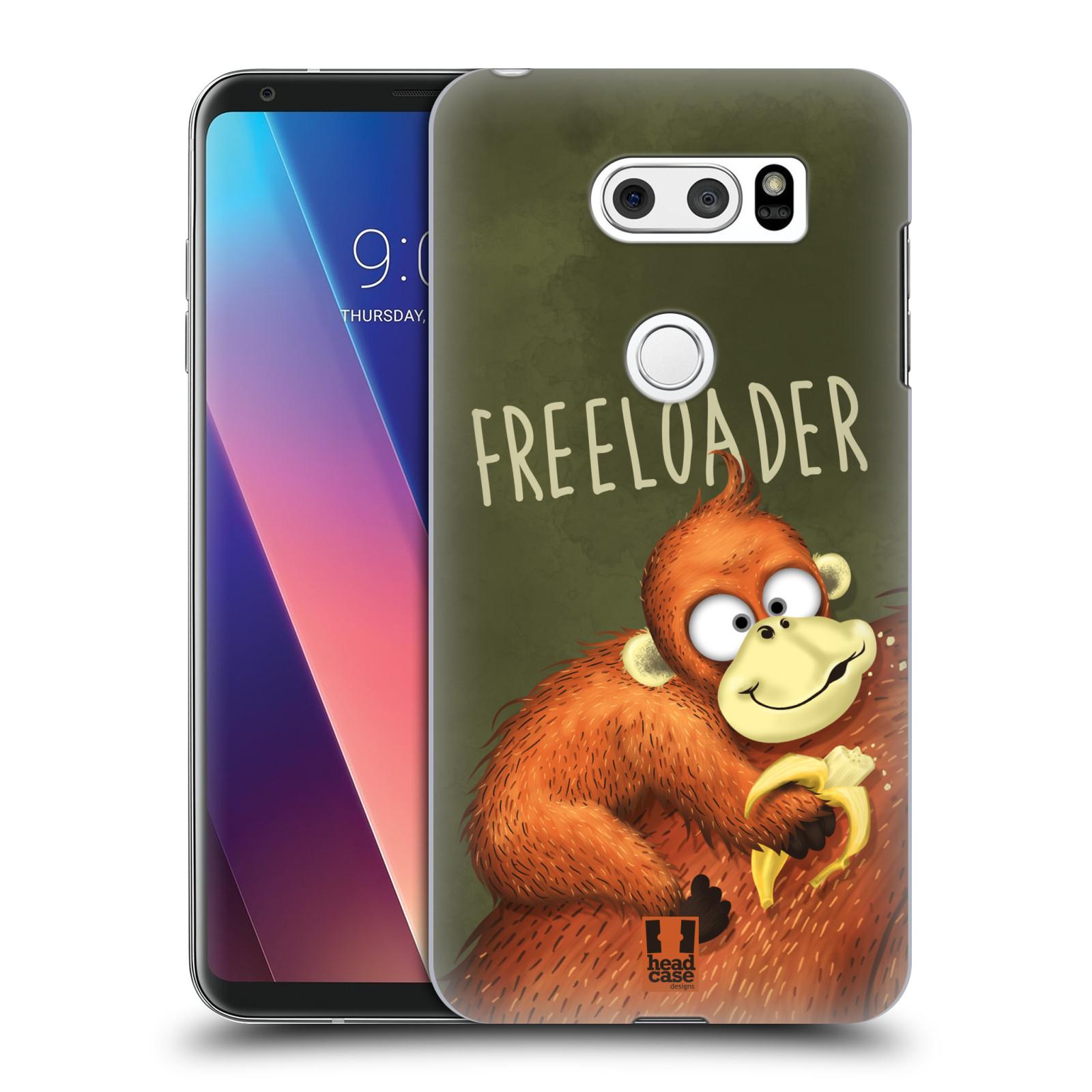 Plastové pouzdro na mobil LG V30 - Head Case - Opičák Freeloader