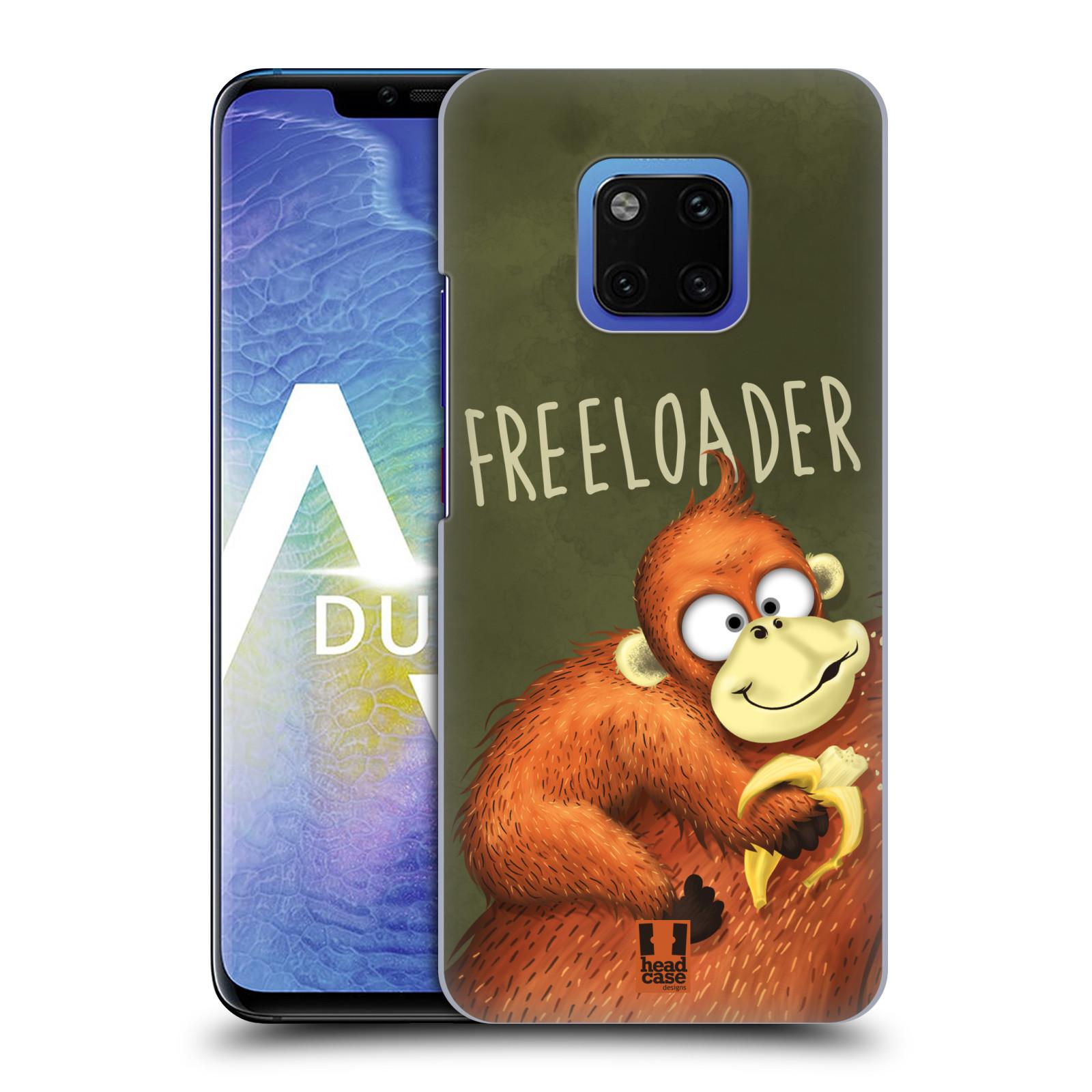 Plastové pouzdro na mobil Huawei Mate 20 Pro - Head Case - Opičák Freeloader