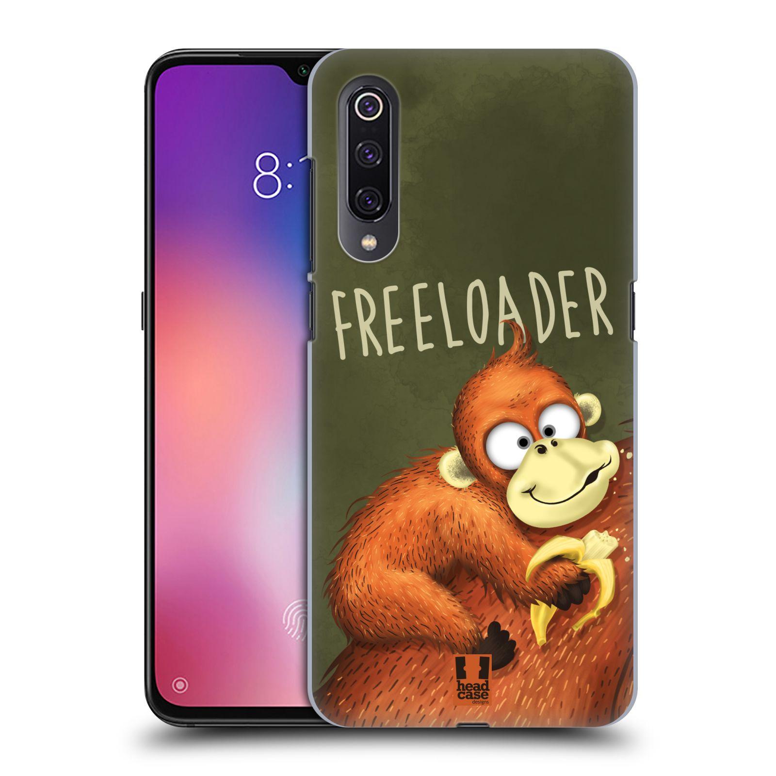 Plastové pouzdro na mobil Xiaomi Mi 9 - Head Case - Opičák Freeloader