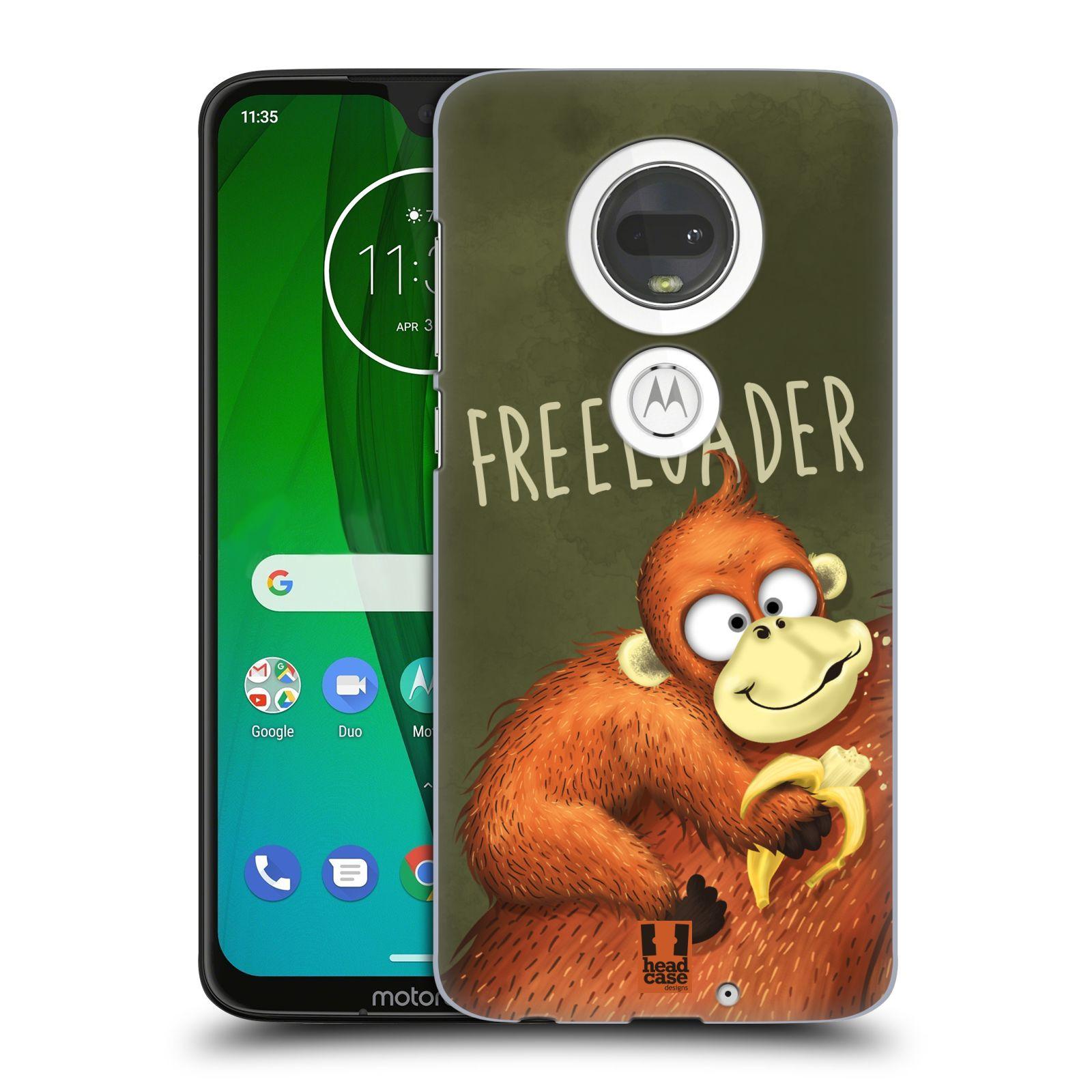 Plastové pouzdro na mobil Motorola Moto G7 - Head Case - Opičák Freeloader