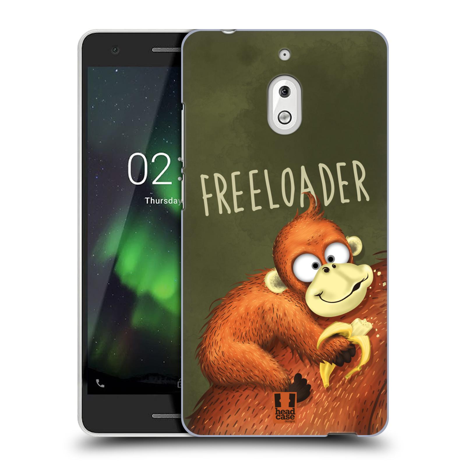 Plastové pouzdro na mobil Nokia 2.1 - Head Case - Opičák Freeloader