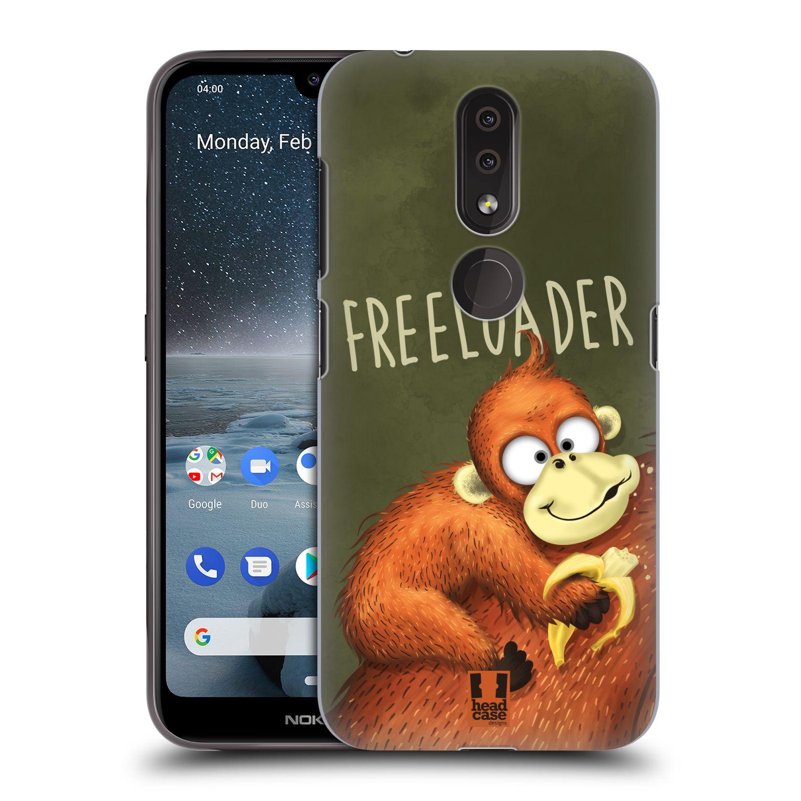Plastové pouzdro na mobil Nokia 4.2 - Head Case - Opičák Freeloader