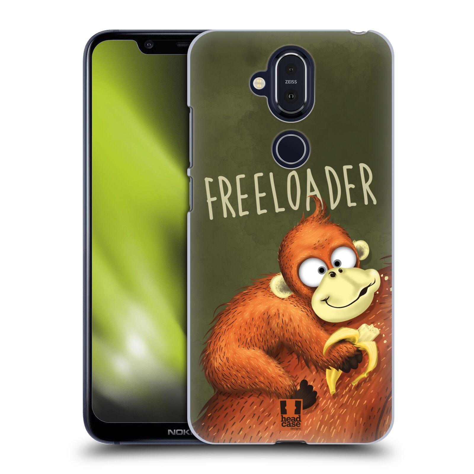 Plastové pouzdro na mobil Nokia 8.1 - Head Case - Opičák Freeloader