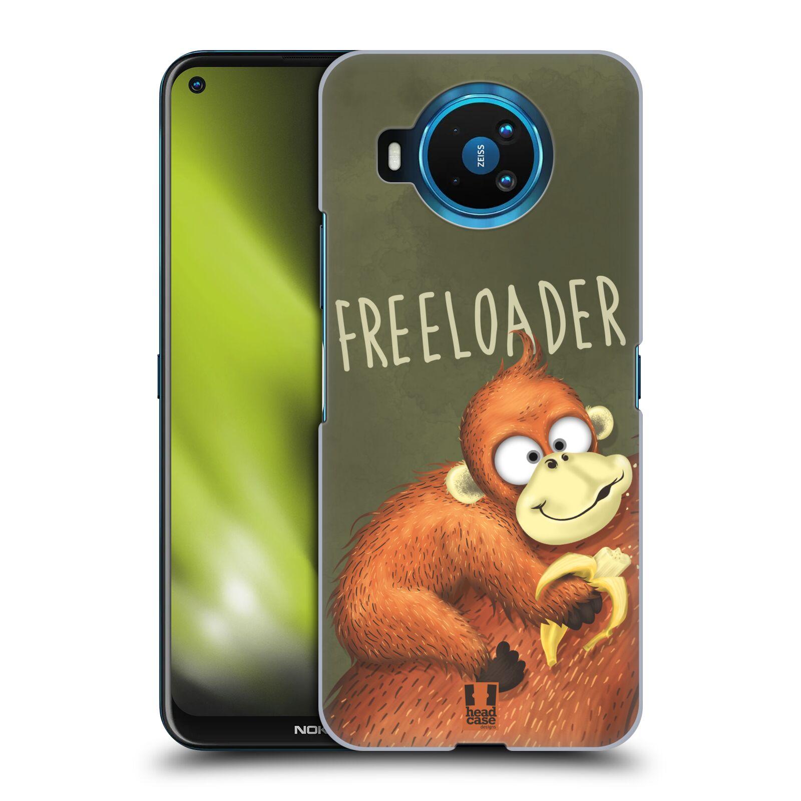 Plastové pouzdro na mobil Nokia 8.3 5G - Head Case - Opičák Freeloader