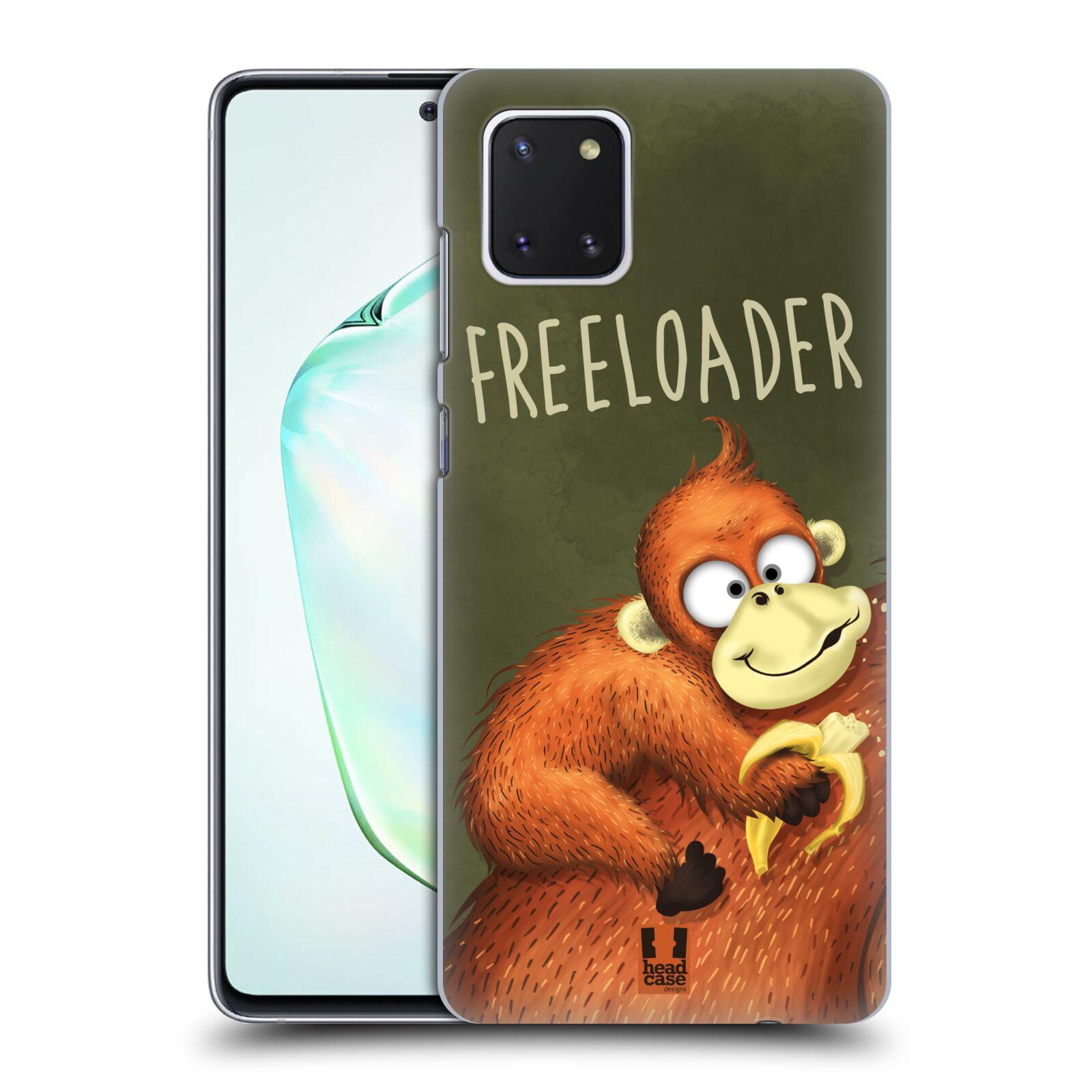 Plastové pouzdro na mobil Samsung Galaxy Note 10 Lite - Head Case - Opičák Freeloader