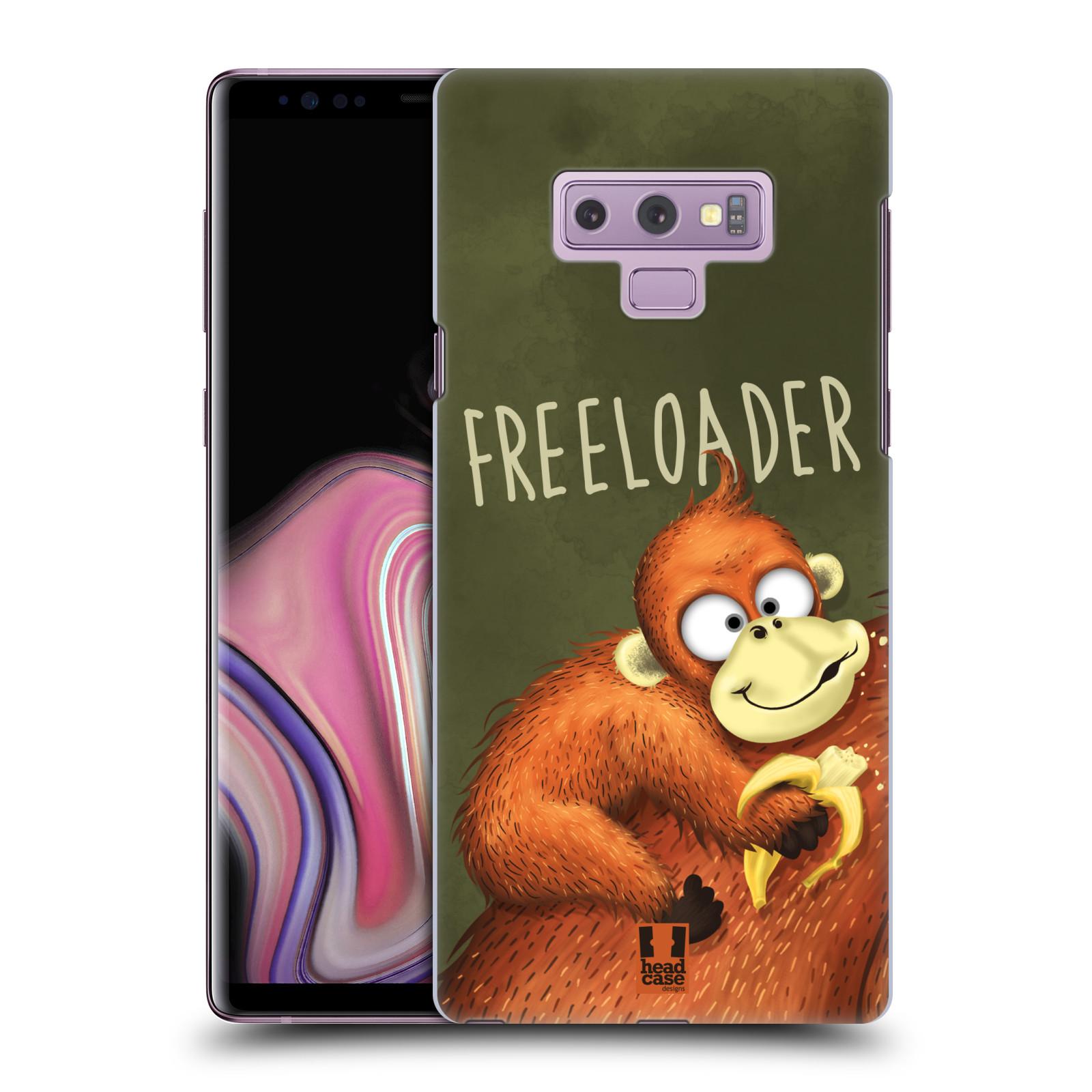 Plastové pouzdro na mobil Samsung Galaxy Note 9 - Head Case - Opičák Freeloader