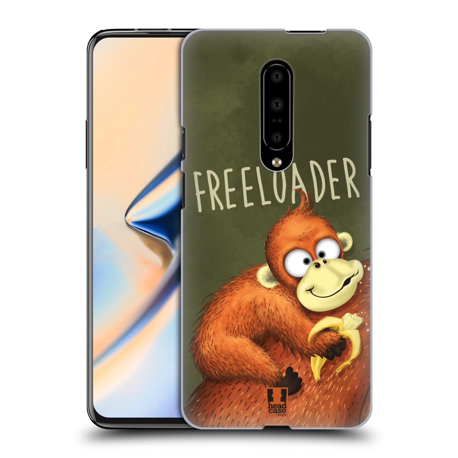 Plastové pouzdro na mobil OnePlus 7 - Head Case - Opičák Freeloader