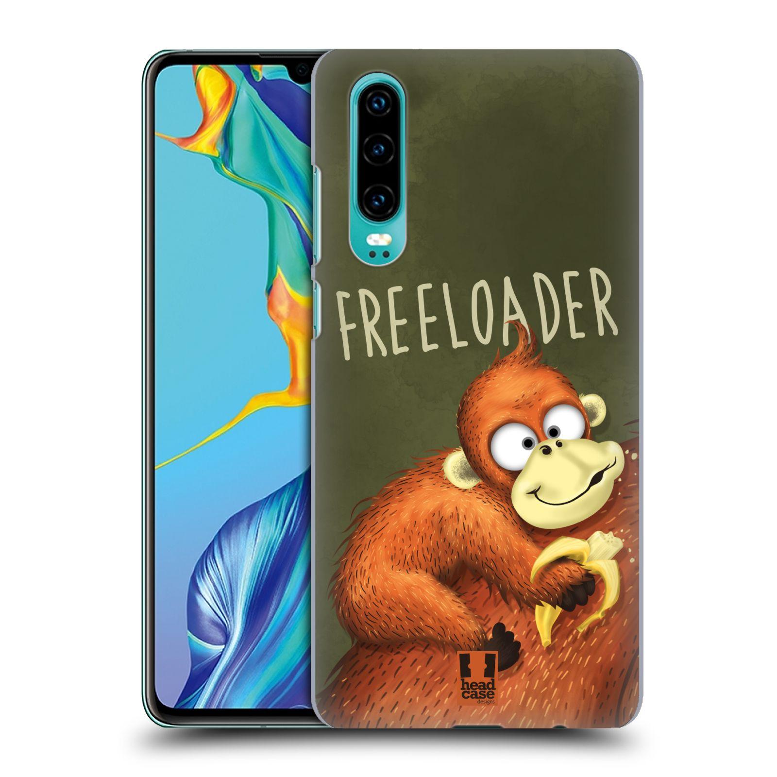 Plastové pouzdro na mobil Huawei P30 - Head Case - Opičák Freeloader