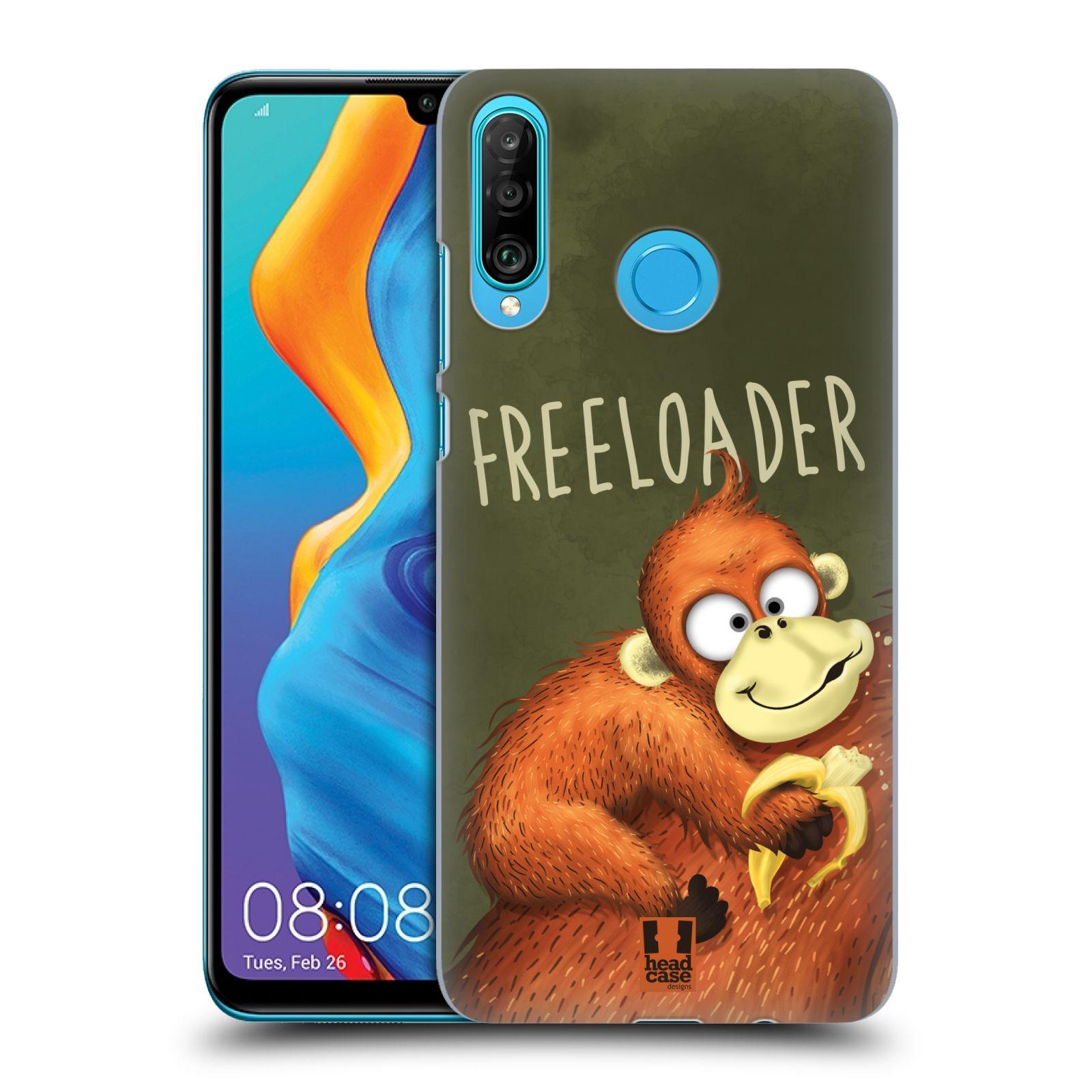 Plastové pouzdro na mobil Huawei P30 Lite - Head Case - Opičák Freeloader
