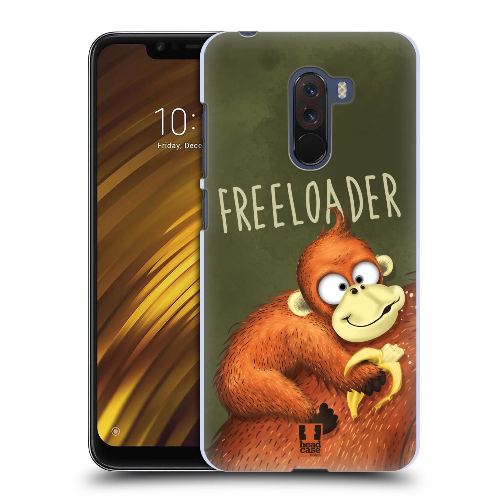 Plastové pouzdro na mobil Xiaomi Pocophone F1 - Head Case - Opičák Freeloader