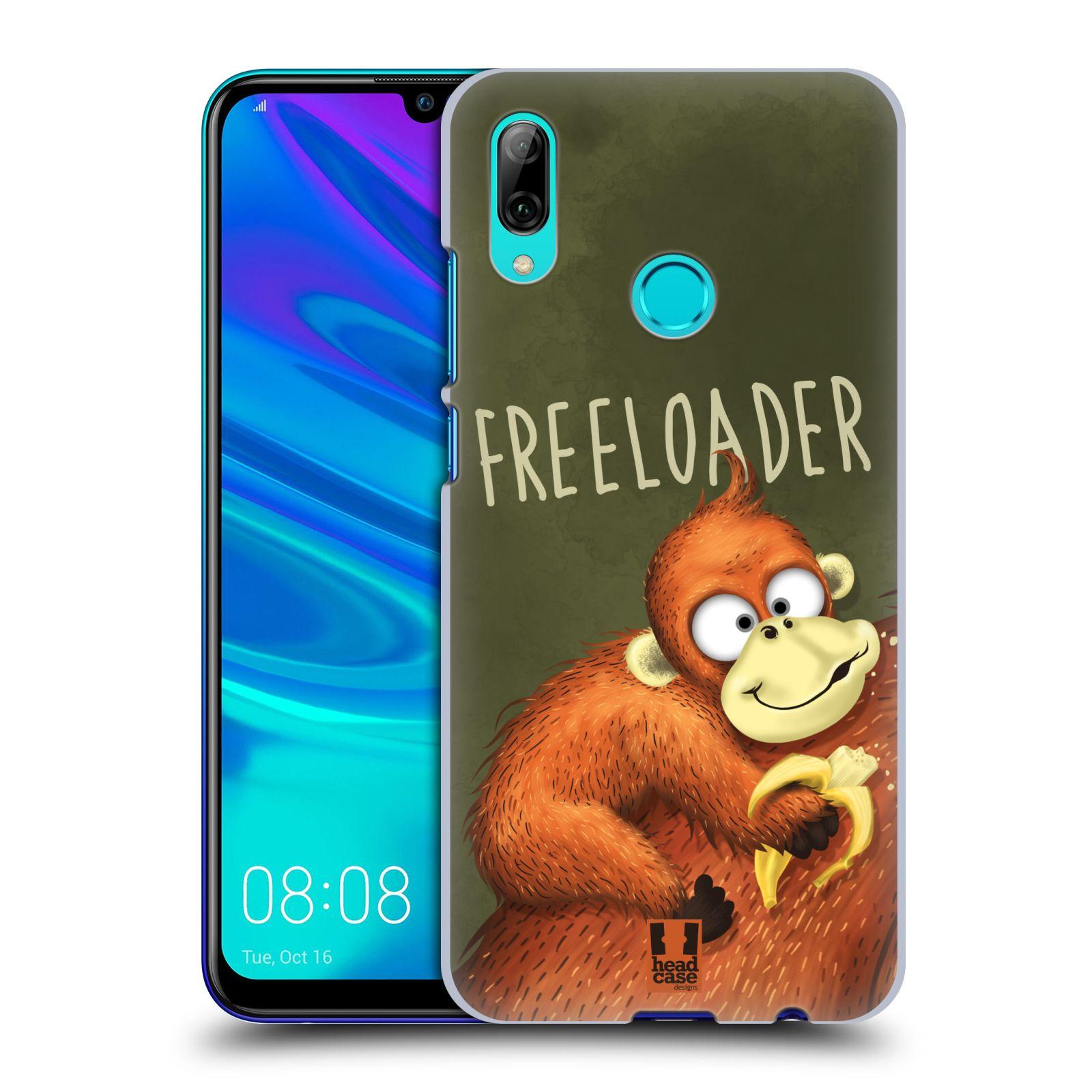 Plastové pouzdro na mobil Honor 10 Lite - Head Case - Opičák Freeloader