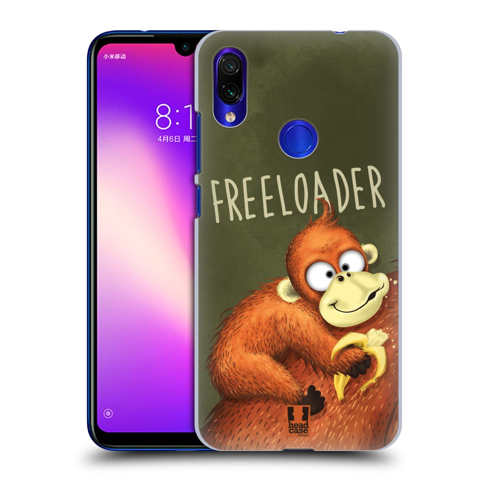 Plastové pouzdro na mobil Xiaomi Redmi Note 7 - Head Case - Opičák Freeloader