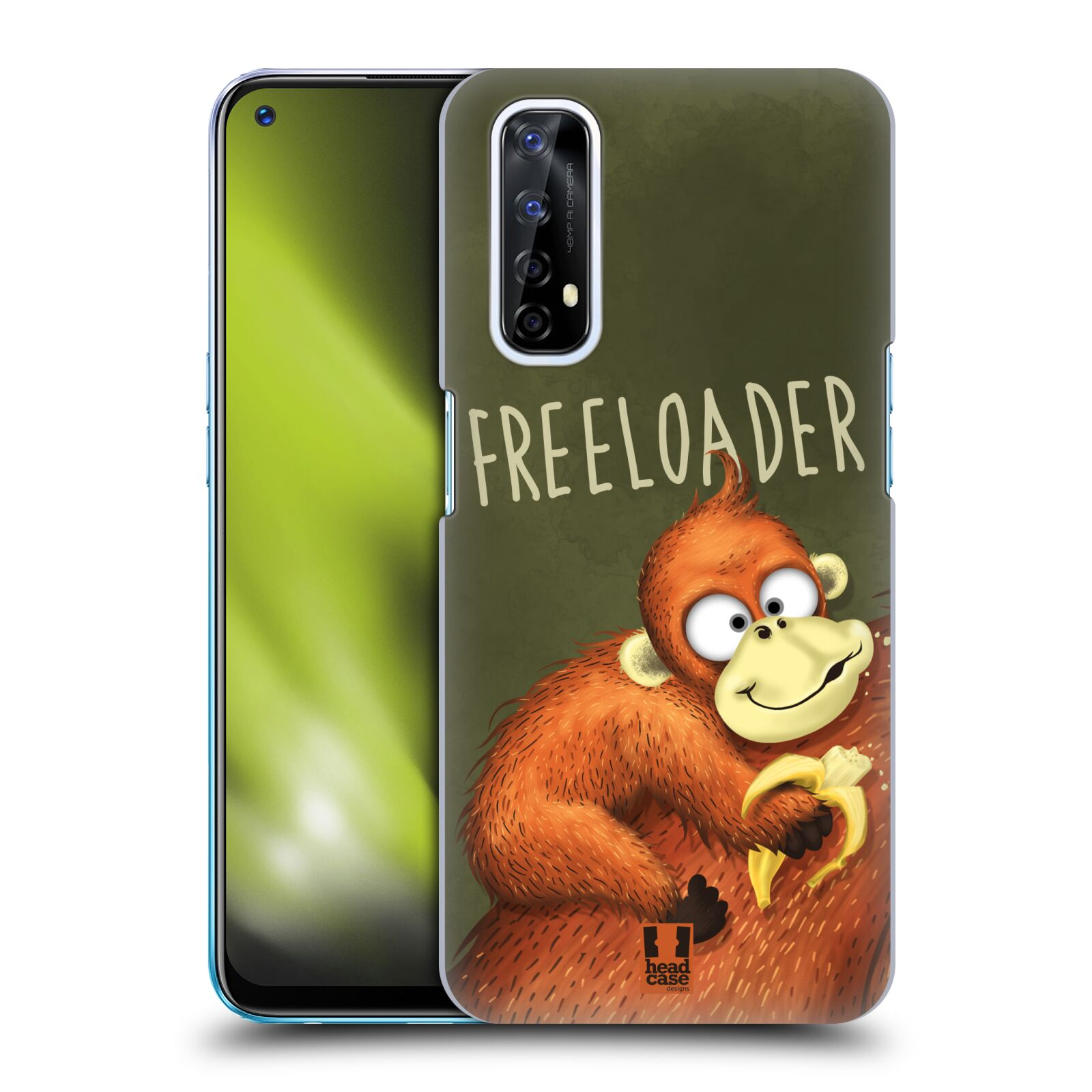 Plastové pouzdro na mobil Realme 7 - Head Case - Opičák Freeloader