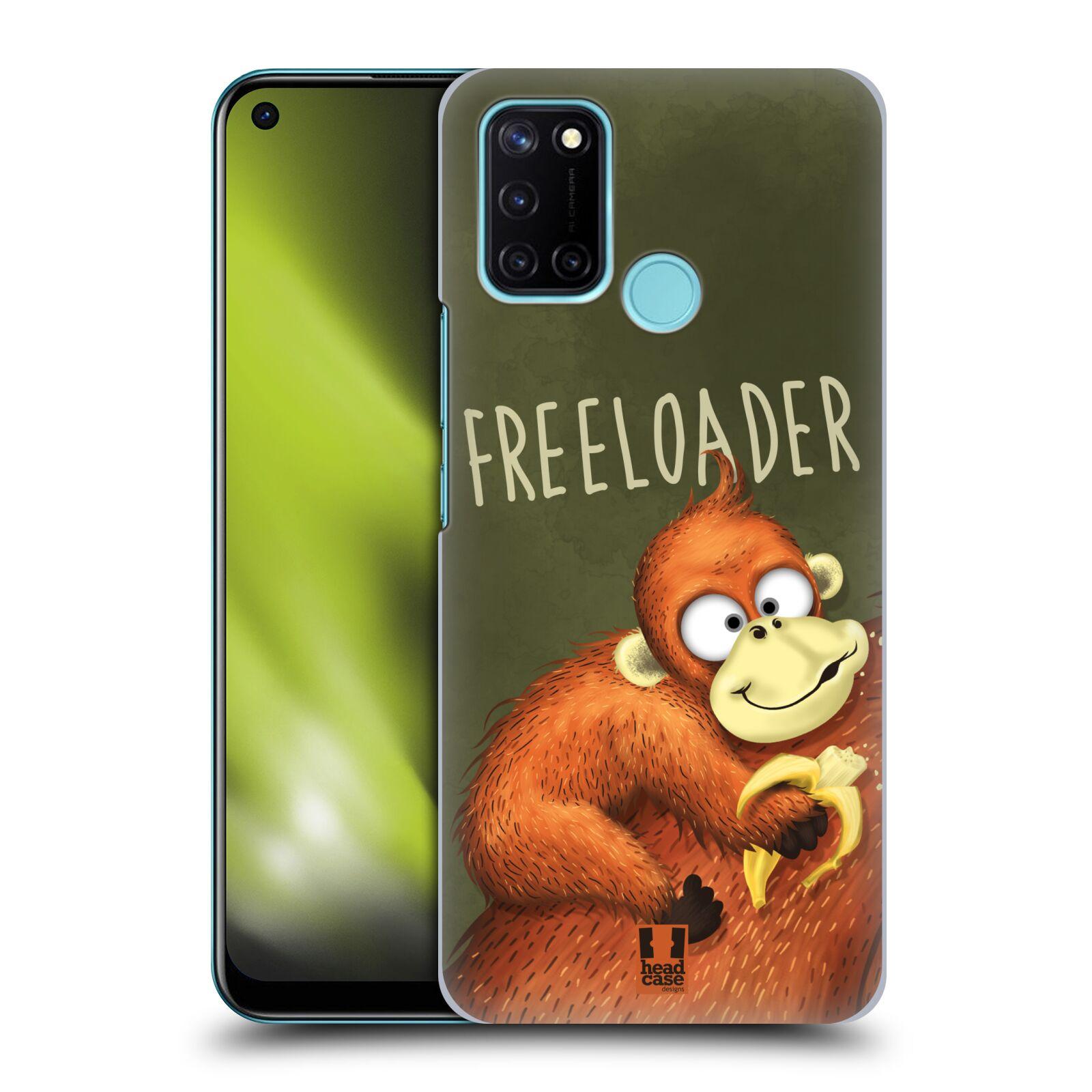 Plastové pouzdro na mobil Realme 7i - Head Case - Opičák Freeloader