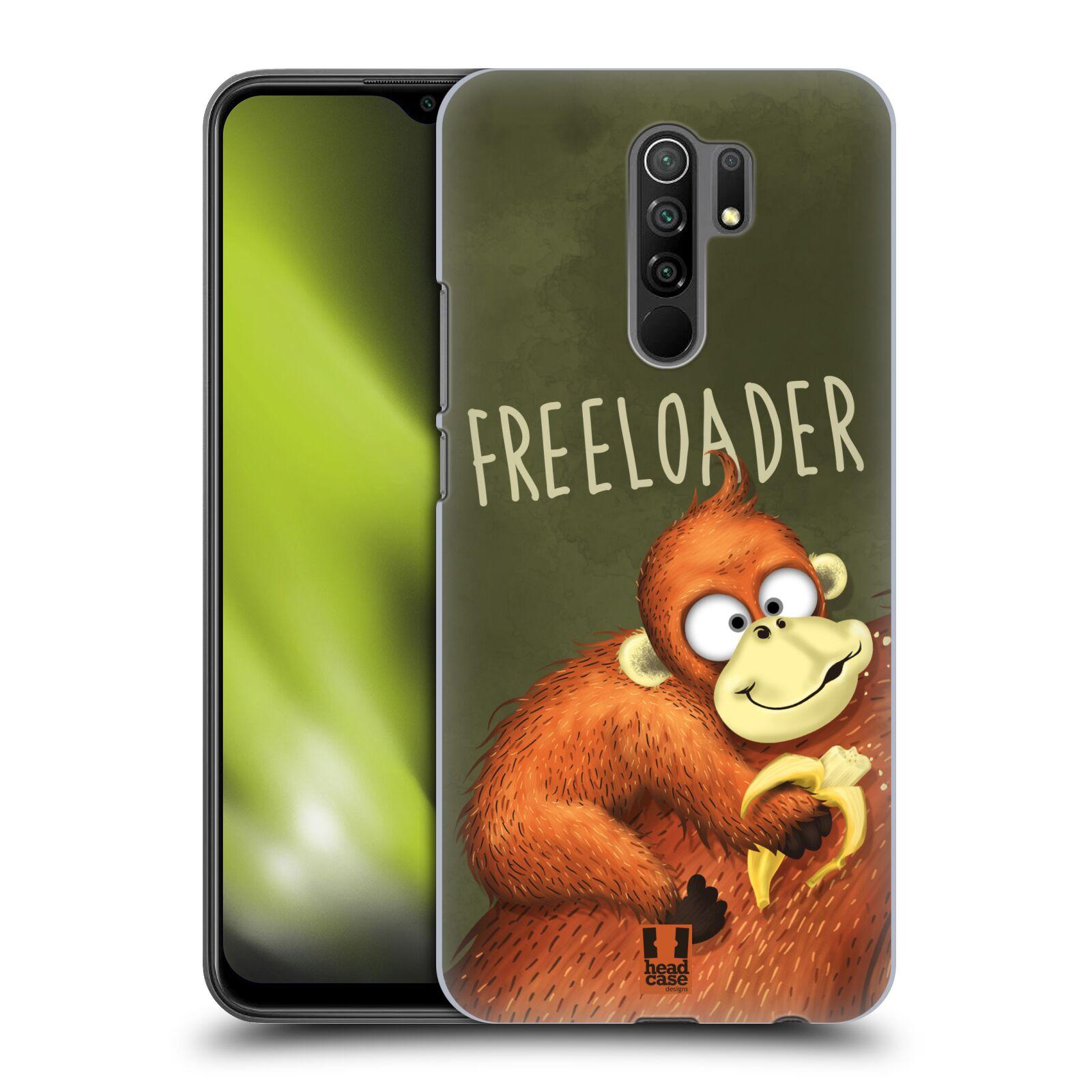 Plastové pouzdro na mobil Xiaomi Redmi 9 - Head Case - Opičák Freeloader