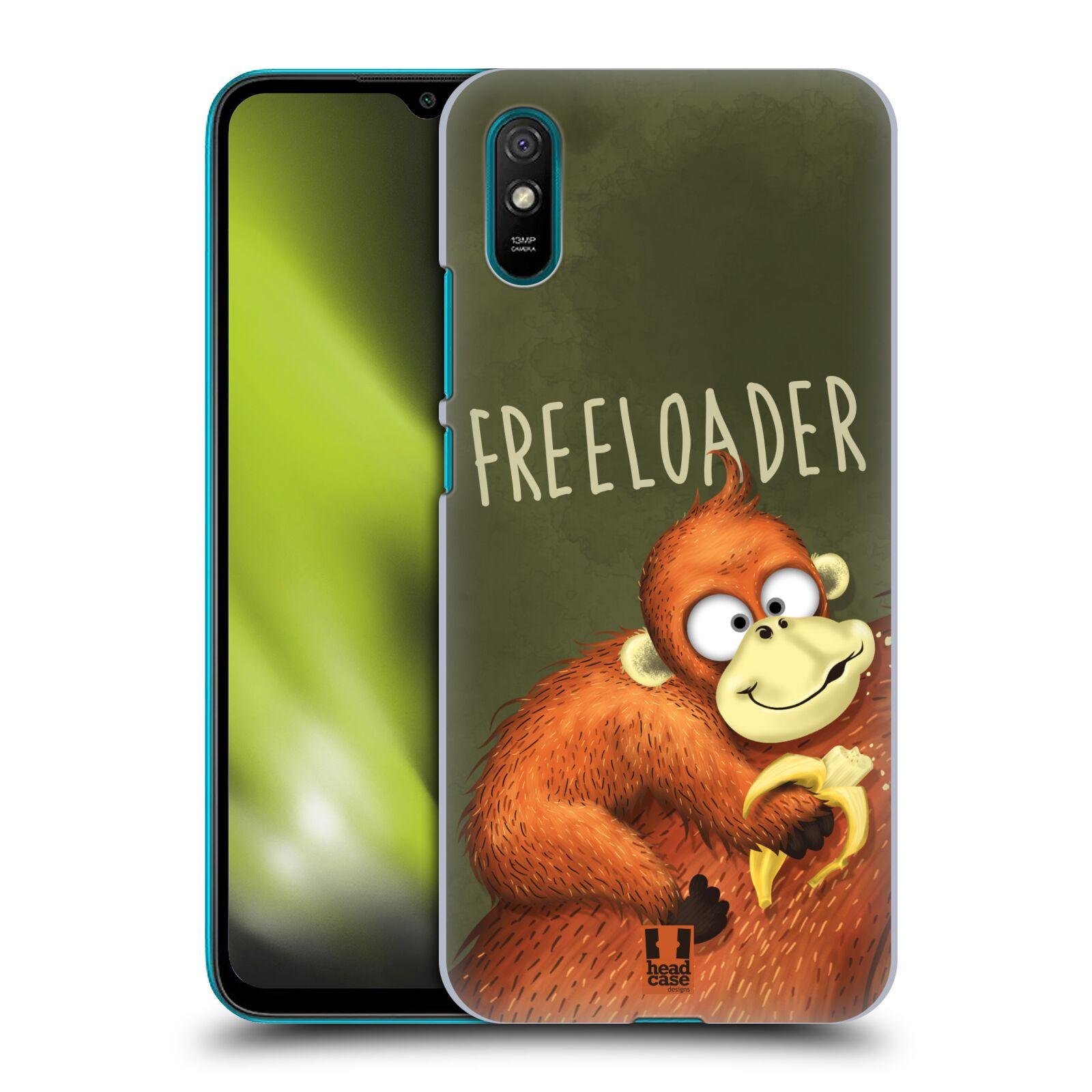 Plastové pouzdro na mobil Xiaomi Redmi 9A / Xiaomi Redmi 9AT - Head Case - Opičák Freeloader