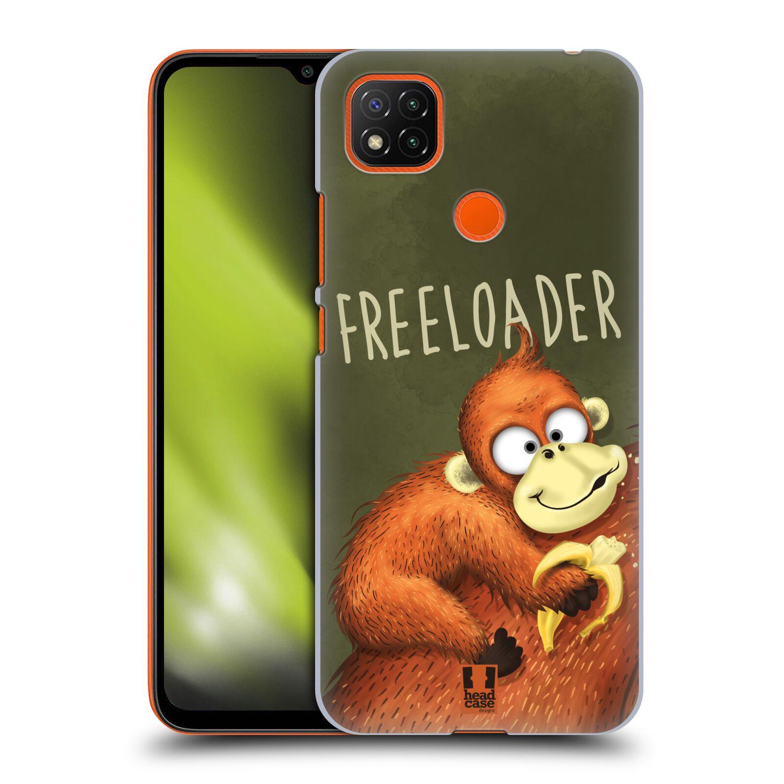 Plastové pouzdro na mobil Xiaomi Redmi 9C - Head Case - Opičák Freeloader