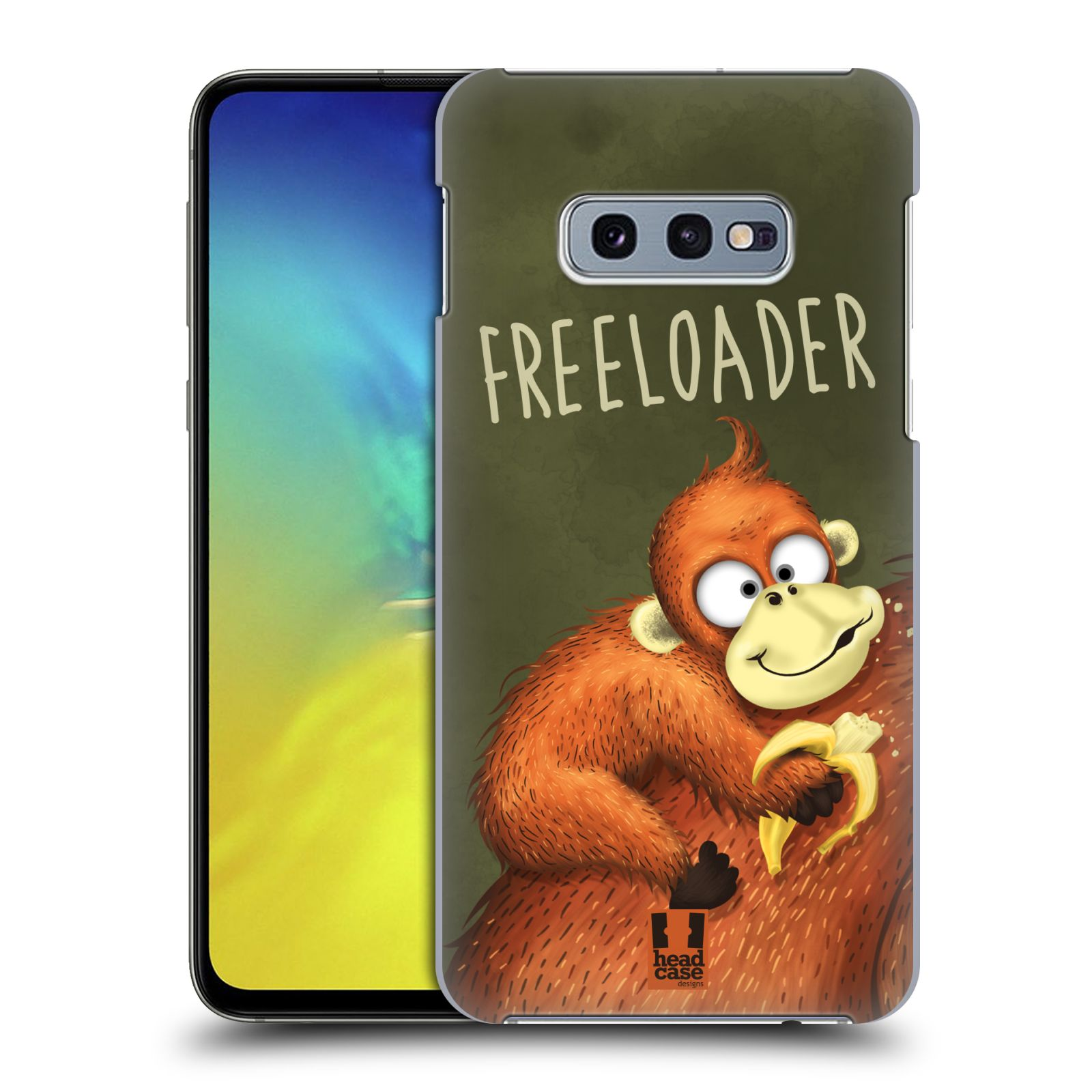 Plastové pouzdro na mobil Samsung Galaxy S10e - Head Case - Opičák Freeloader