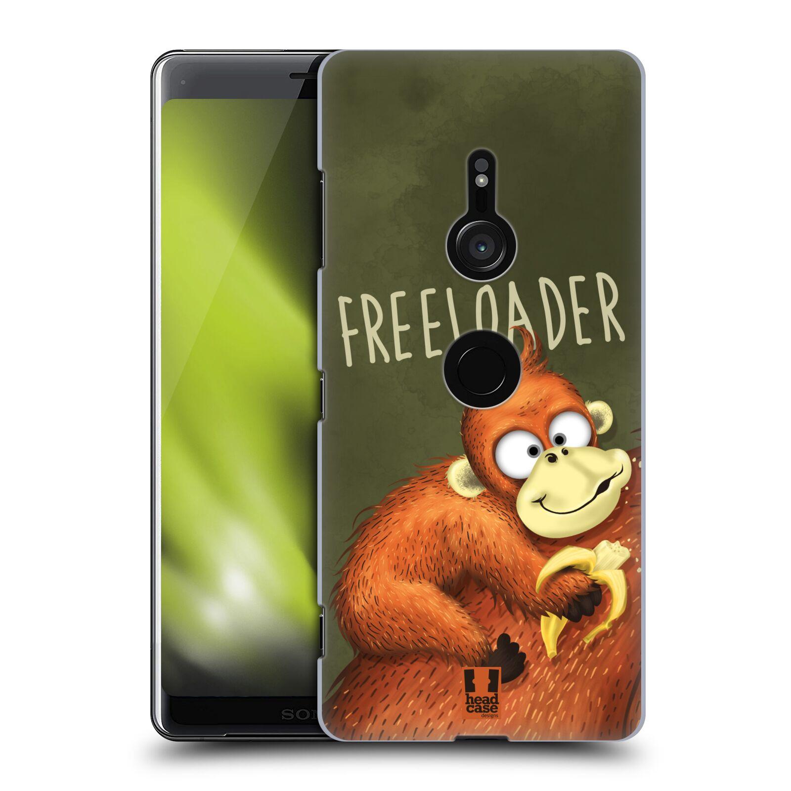 Plastové pouzdro na mobil Sony Xperia XZ3 - Head Case - Opičák Freeloader