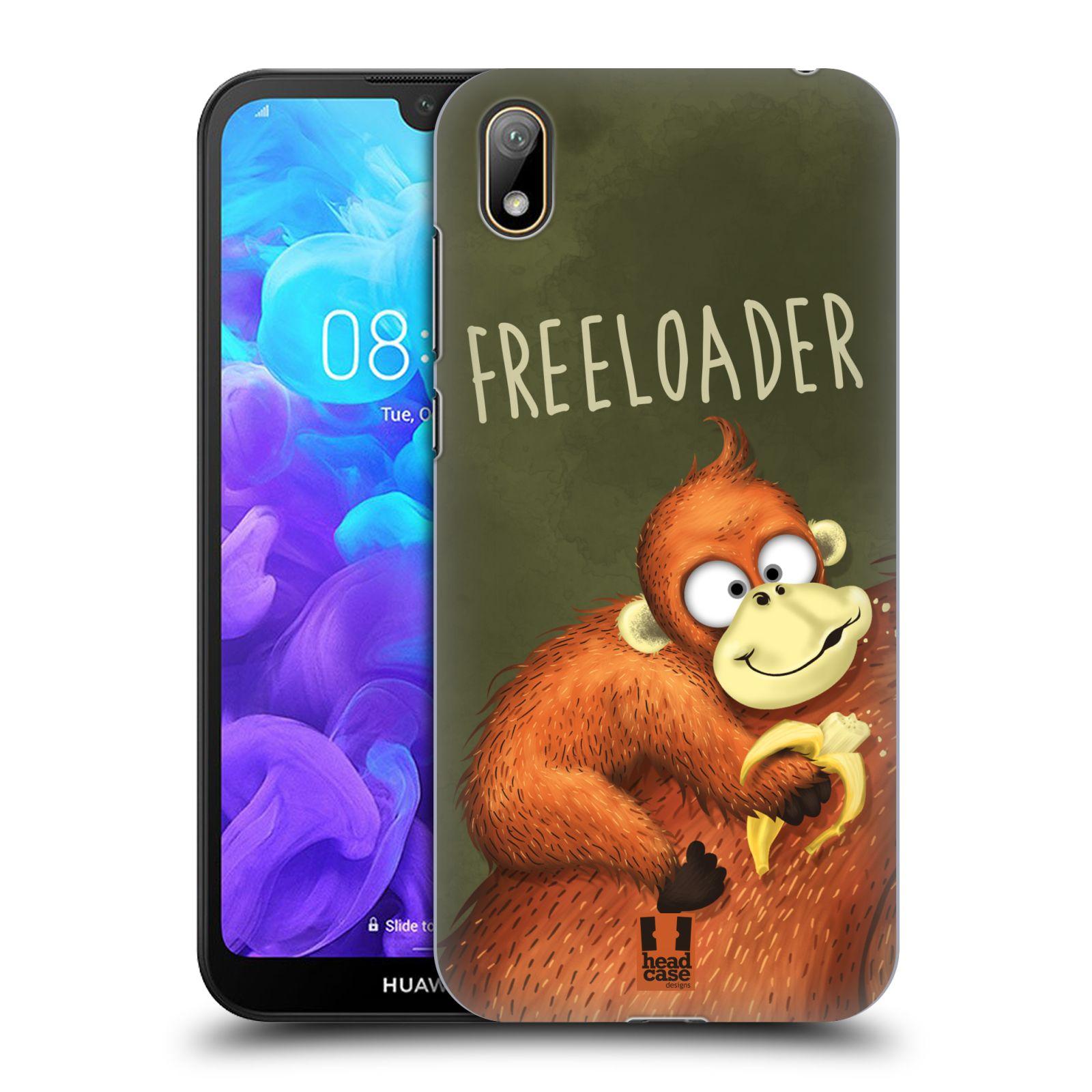Plastové pouzdro na mobil Honor 8S - Head Case - Opičák Freeloader