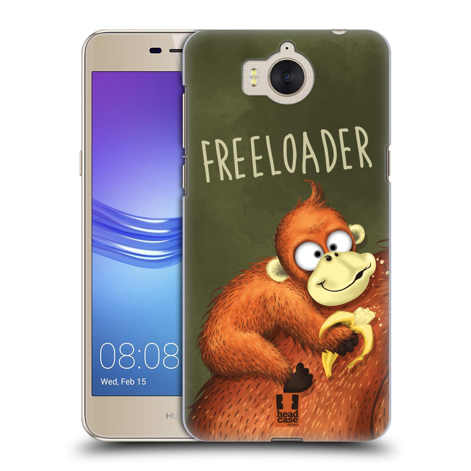 Plastové pouzdro na mobil Huawei Y6 2017 - Head Case - Opičák Freeloader