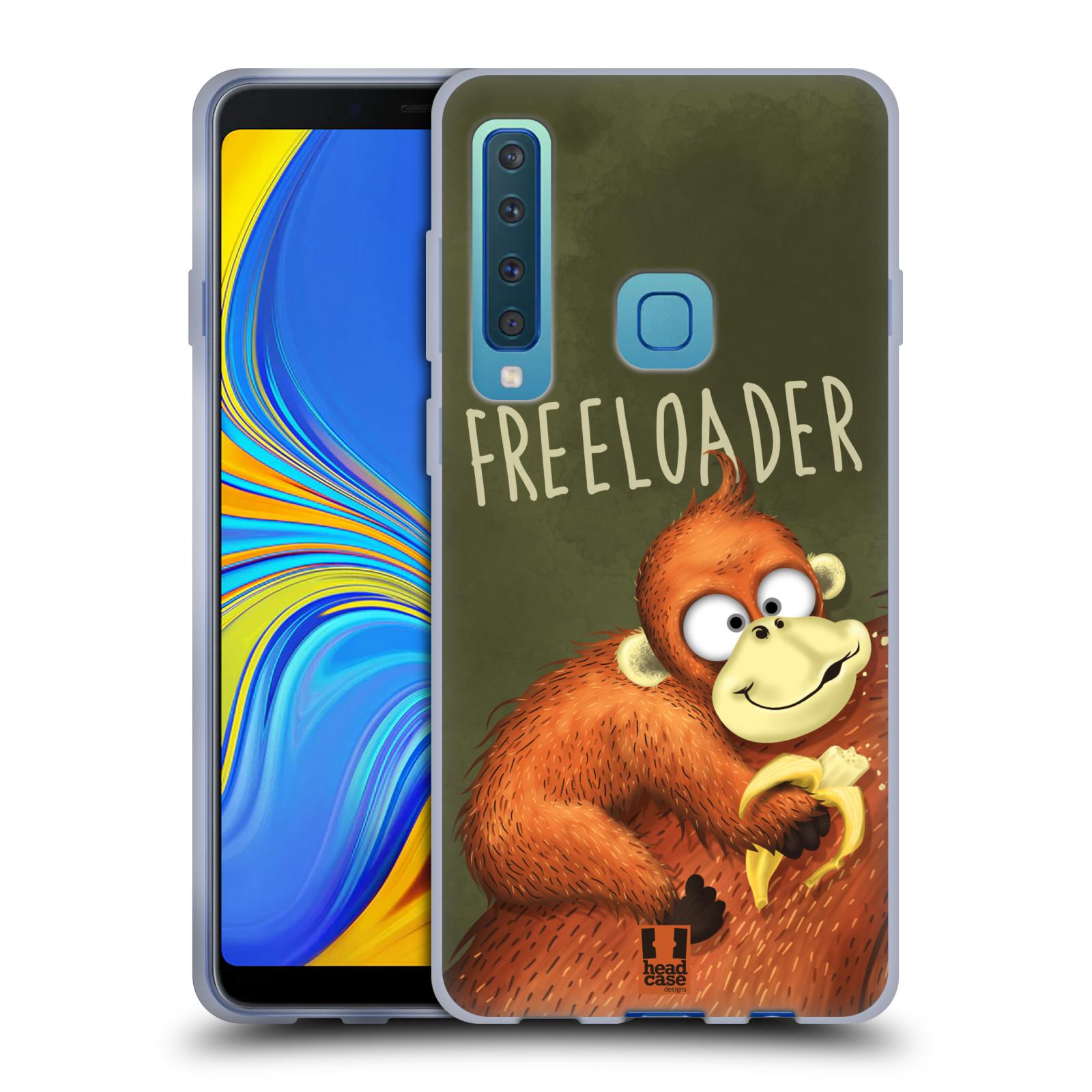 Silikonové pouzdro na mobil Samsung Galaxy A9 (2018) - Head Case - Opičák Freeloader