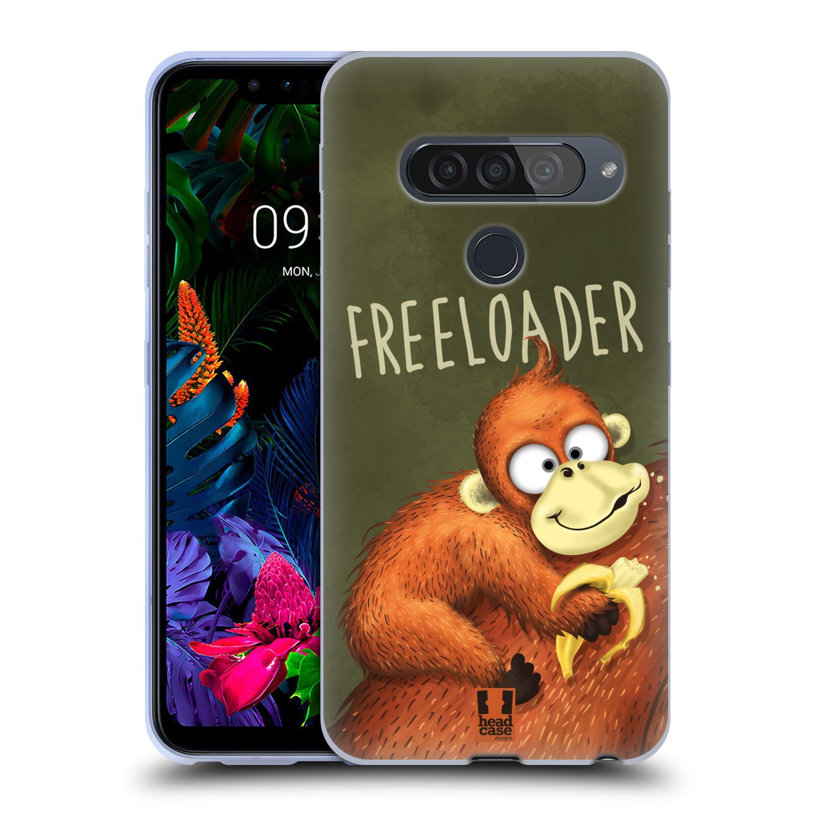 Silikonové pouzdro na mobil LG G8s ThinQ - Head Case - Opičák Freeloader