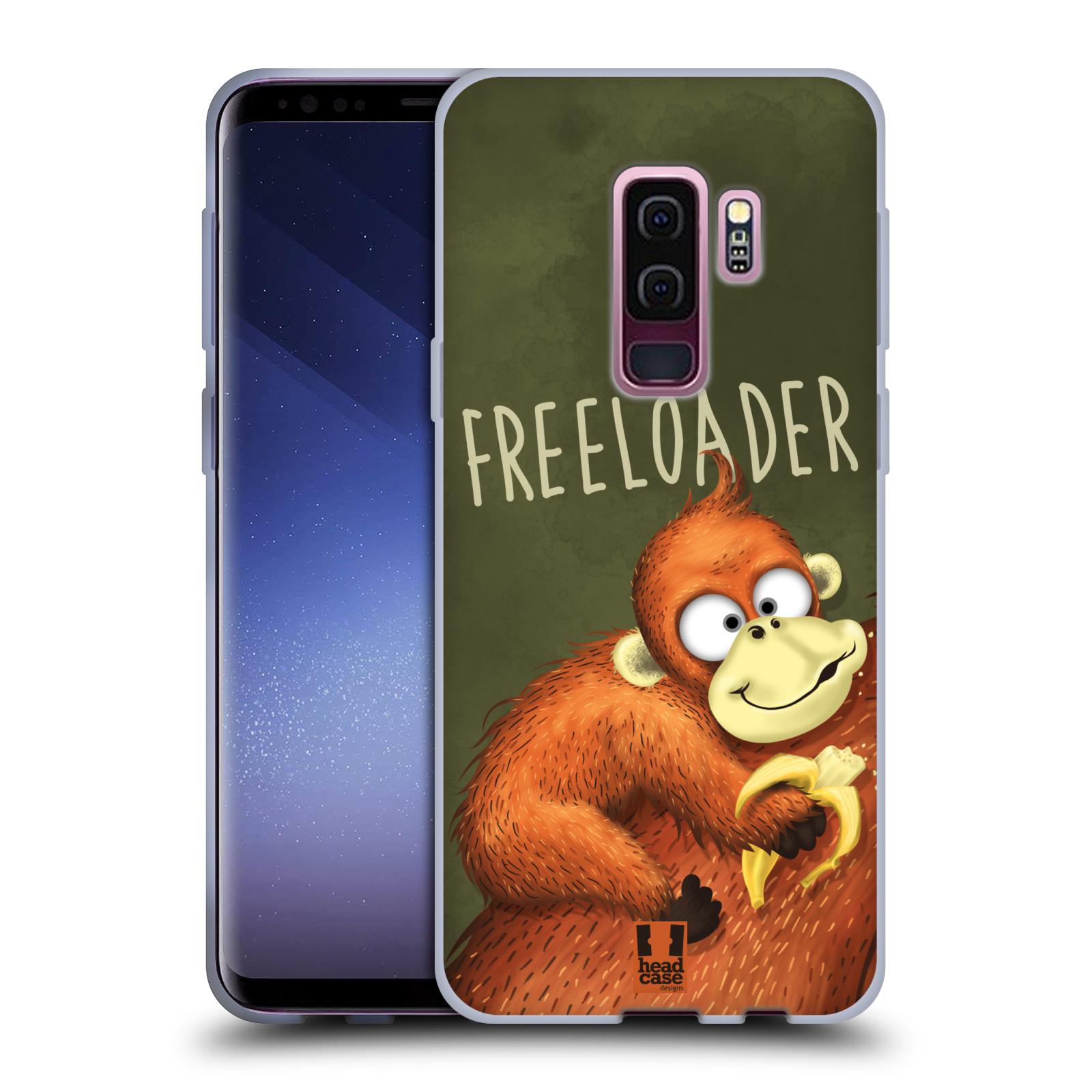 Silikonové pouzdro na mobil Samsung Galaxy S9 Plus - Head Case - Opičák Freeloader