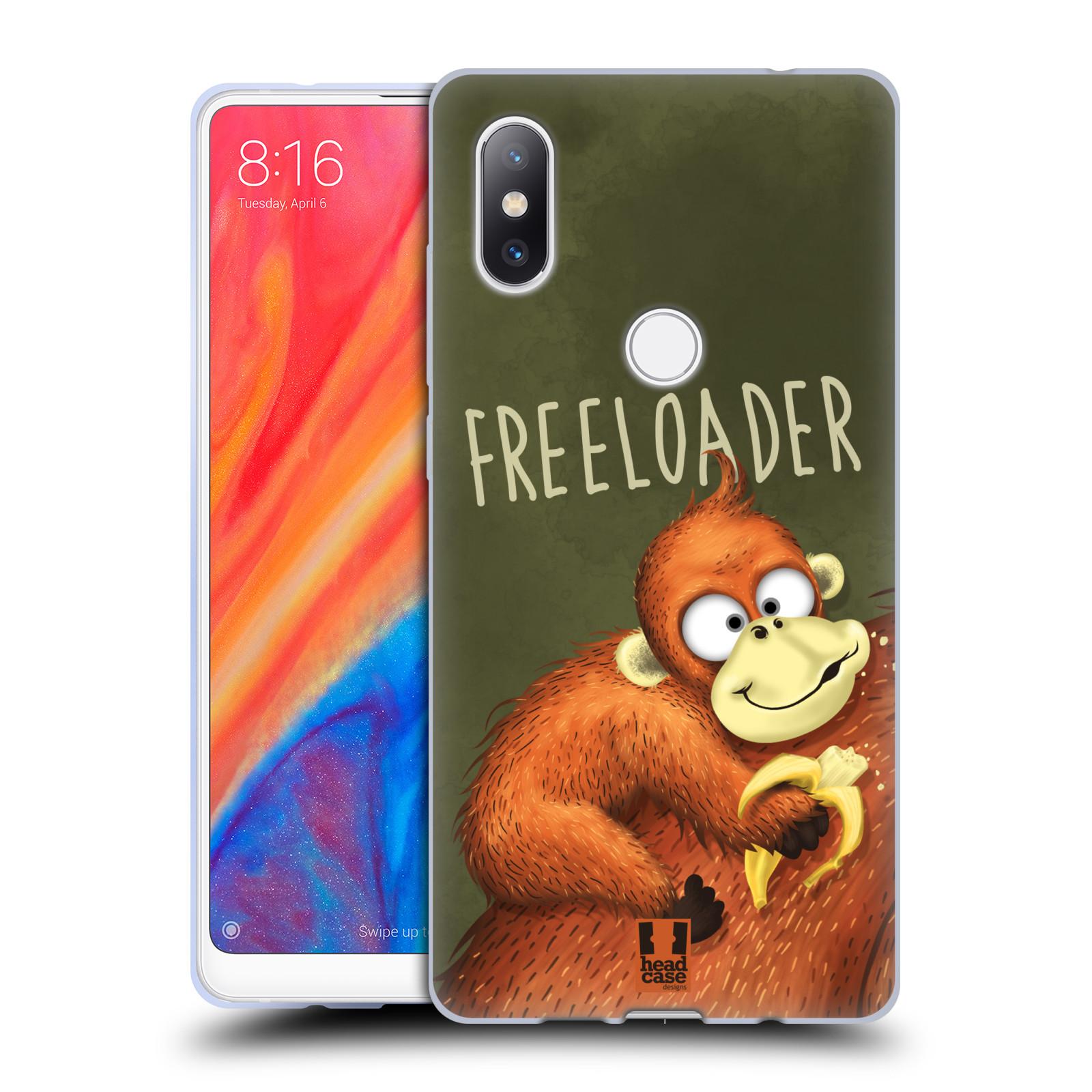 Silikonové pouzdro na mobil Xiaomi Mi Mix 2S - Head Case - Opičák Freeloader