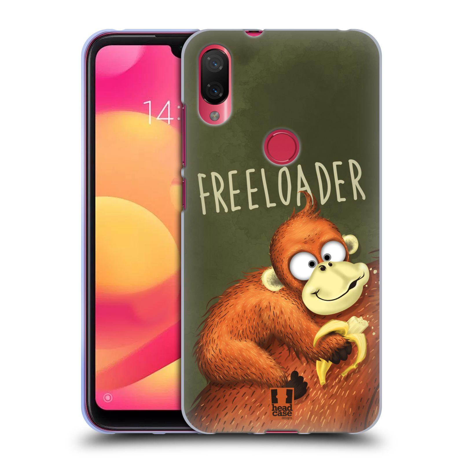 Silikonové pouzdro na mobil Xiaomi Mi Play - Head Case - Opičák Freeloader