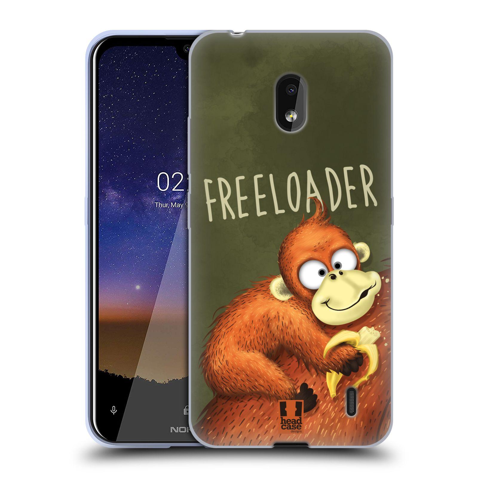 Silikonové pouzdro na mobil Nokia 2.2 - Head Case - Opičák Freeloader