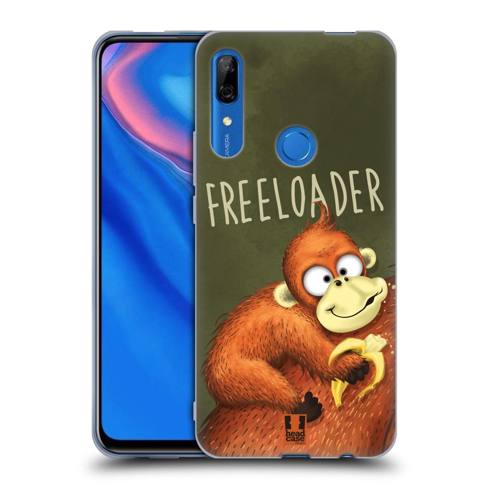 Silikonové pouzdro na mobil Huawei P Smart Z - Head Case - Opičák Freeloader
