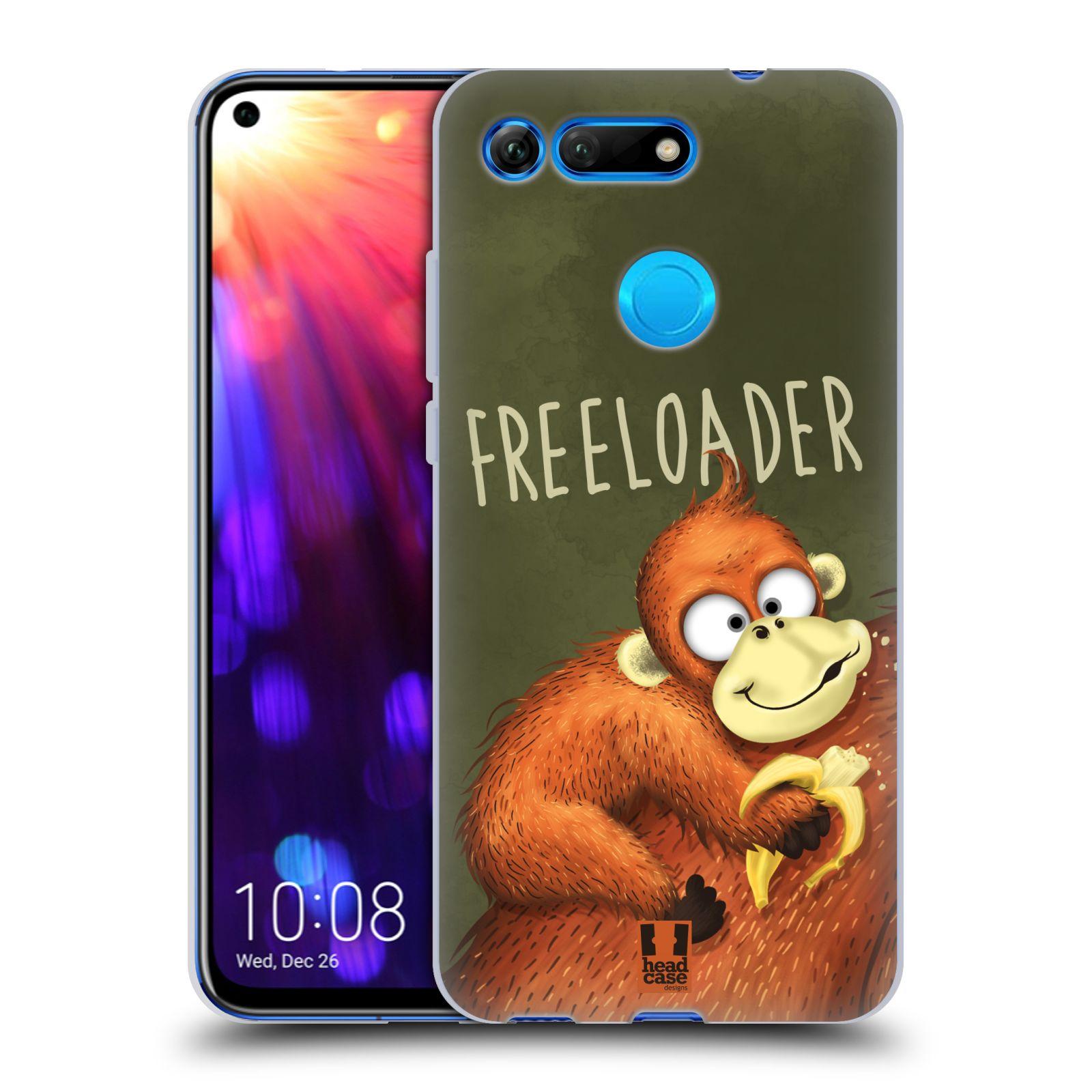 Silikonové pouzdro na mobil Honor View 20 - Head Case - Opičák Freeloader