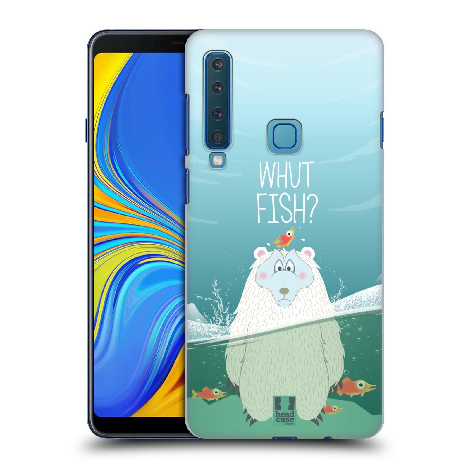 Plastové pouzdro na mobil Samsung Galaxy A9 (2018) - Head Case - Medvěd Whut Fish?