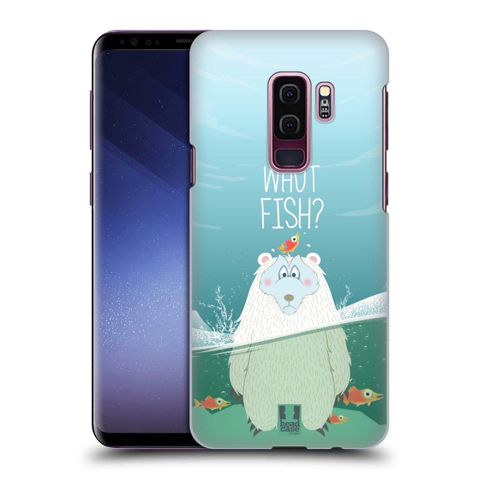 Plastové pouzdro na mobil Samsung Galaxy S9 Plus - Head Case - Medvěd Whut Fish?