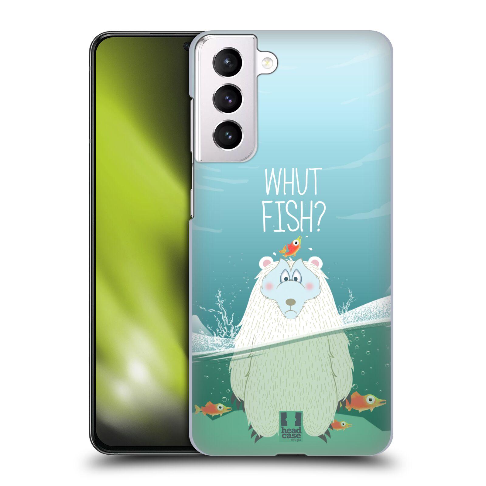 Plastové pouzdro na mobil Samsung Galaxy S21 Plus 5G - Head Case - Medvěd Whut Fish?