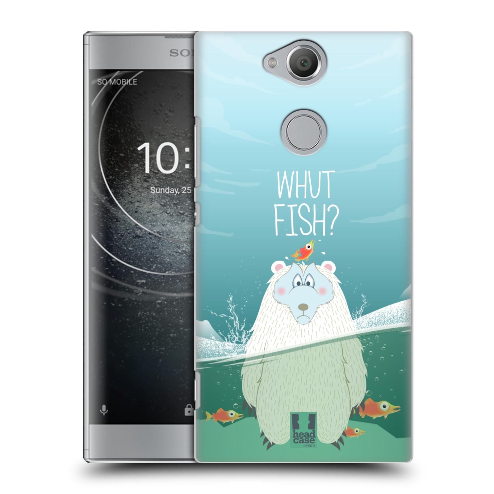 Plastové pouzdro na mobil Sony Xperia XA2 - Head Case - Medvěd Whut Fish?