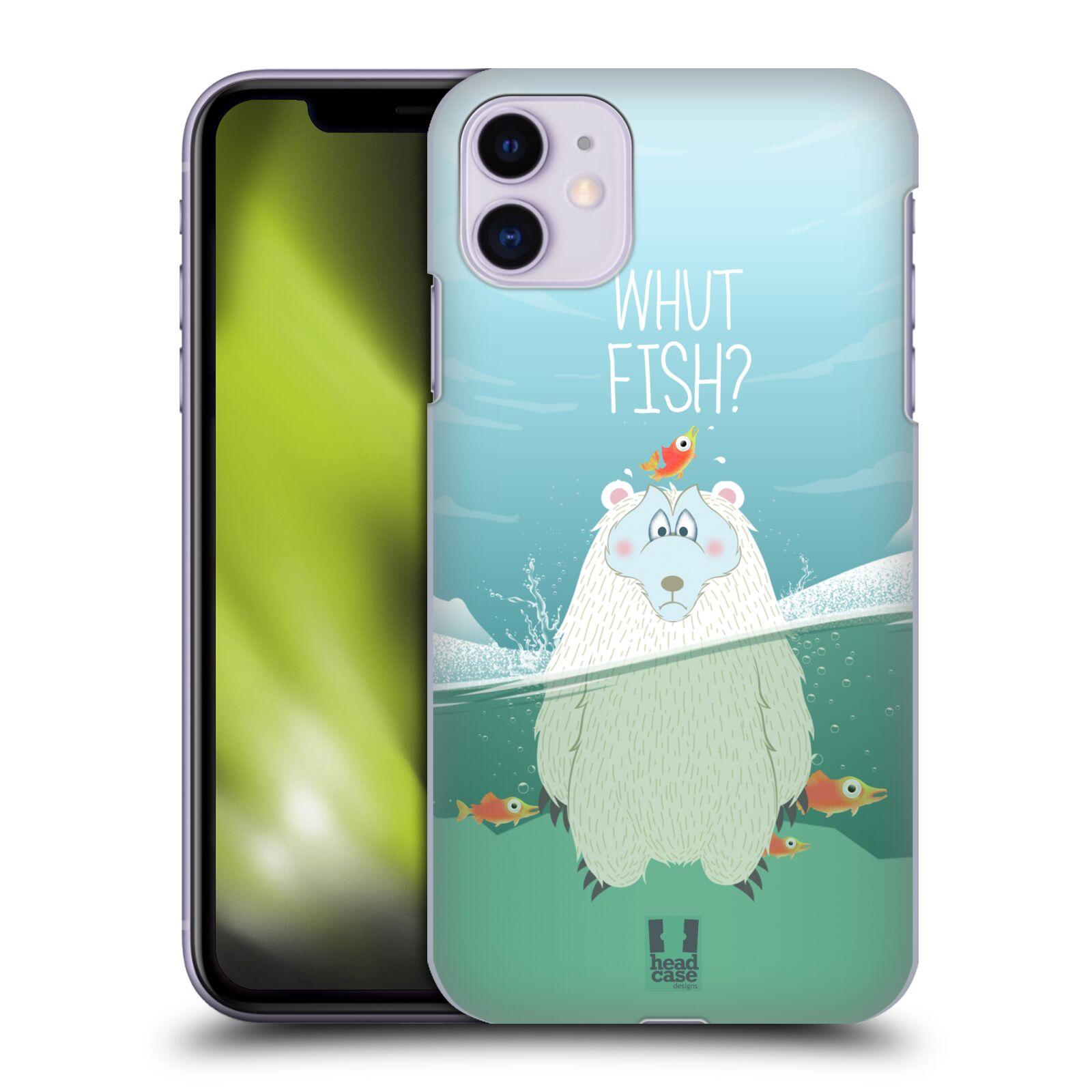 Plastové pouzdro na mobil Apple iPhone 11 - Head Case - Medvěd Whut Fish?