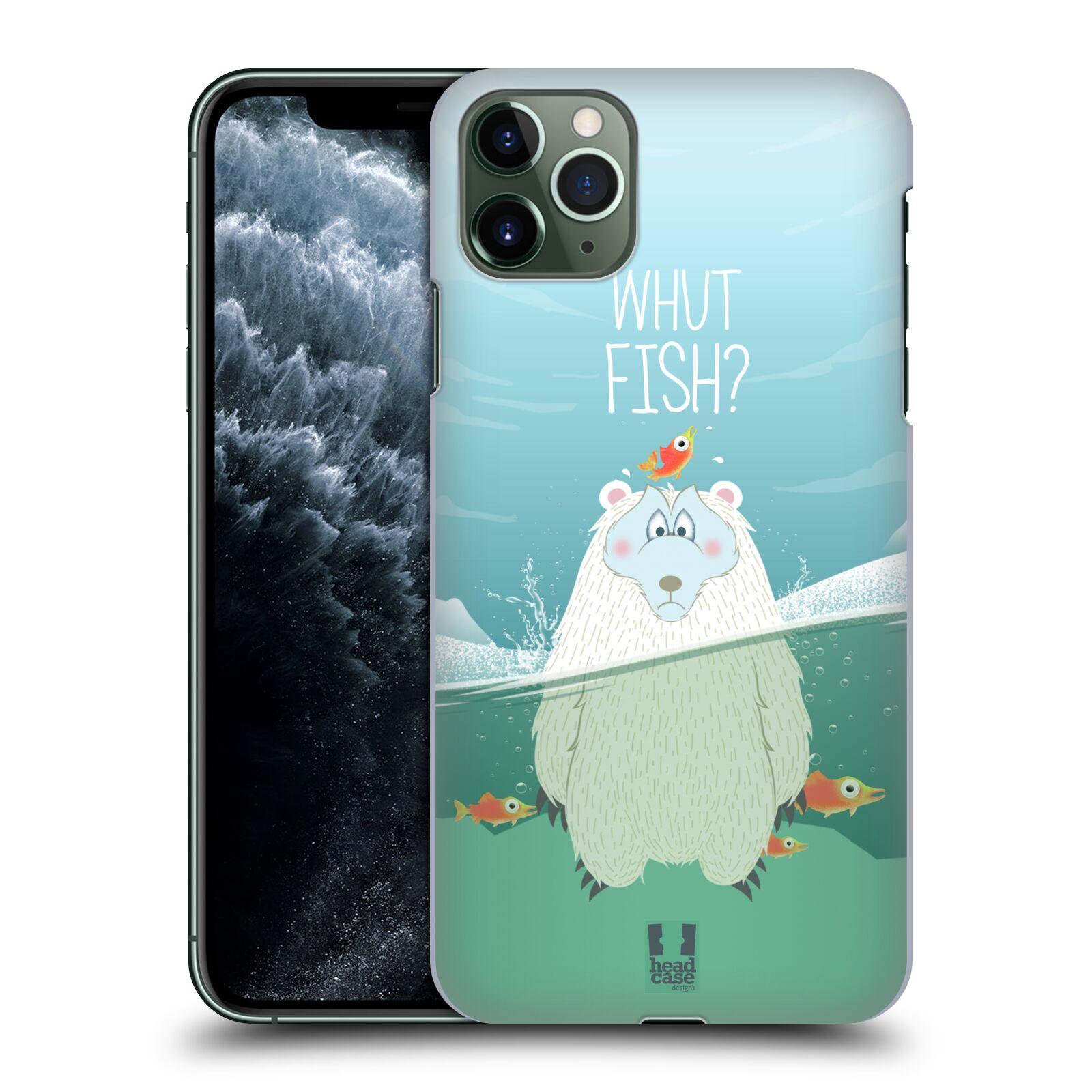 Plastové pouzdro na mobil Apple iPhone 11 Pro Max - Head Case - Medvěd Whut Fish?