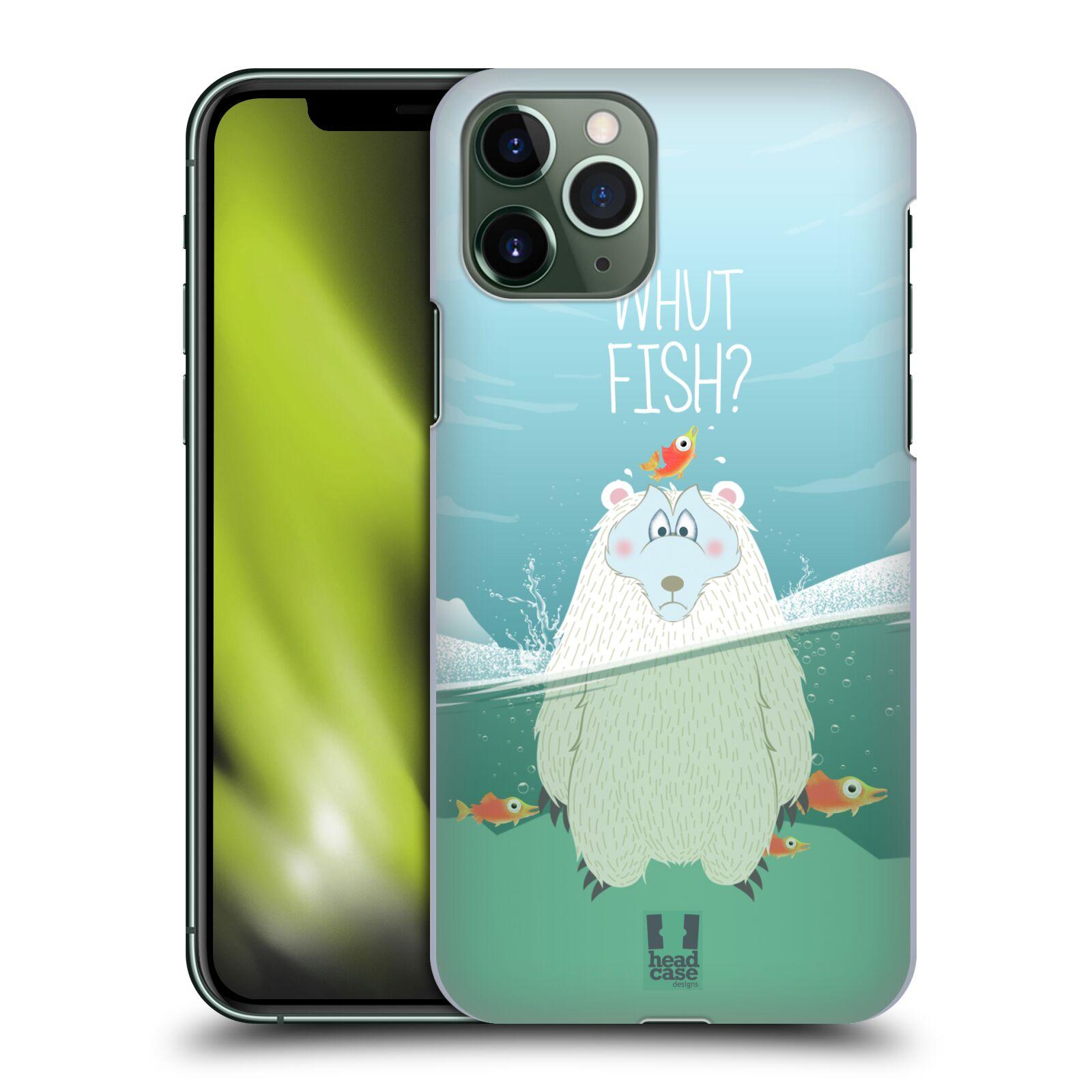 Plastové pouzdro na mobil Apple iPhone 11 Pro - Head Case - Medvěd Whut Fish?